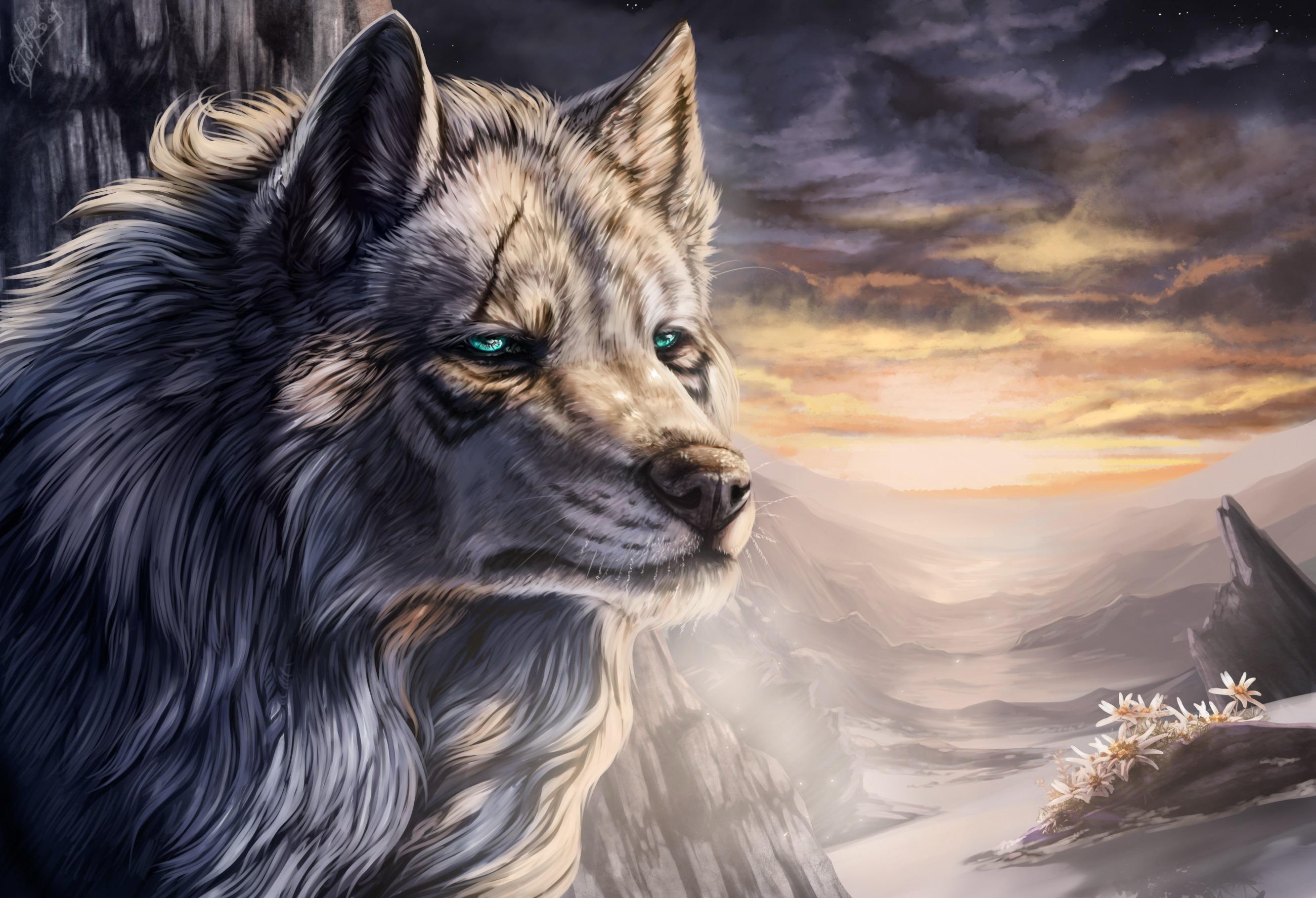 Волчица с зелеными глазами красивые картинки