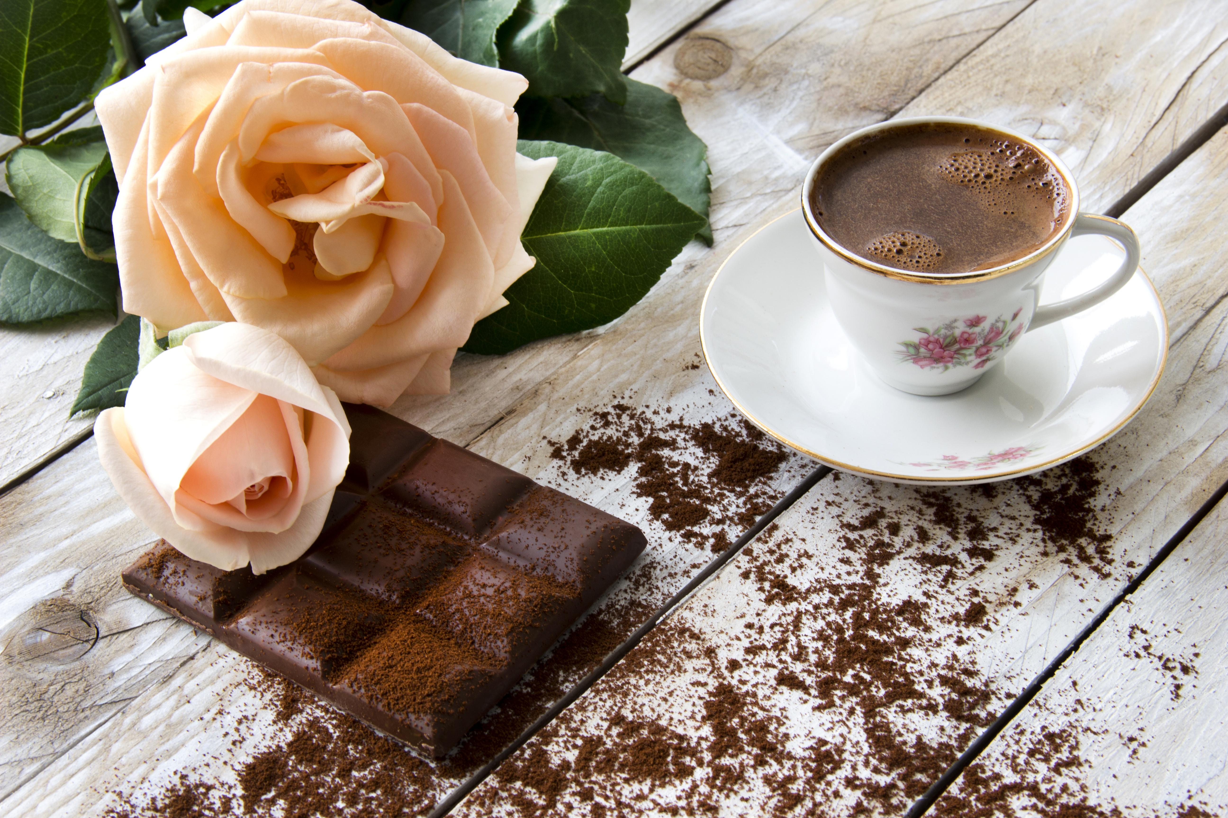 кофе с молоком картинки красивые и с розами нас