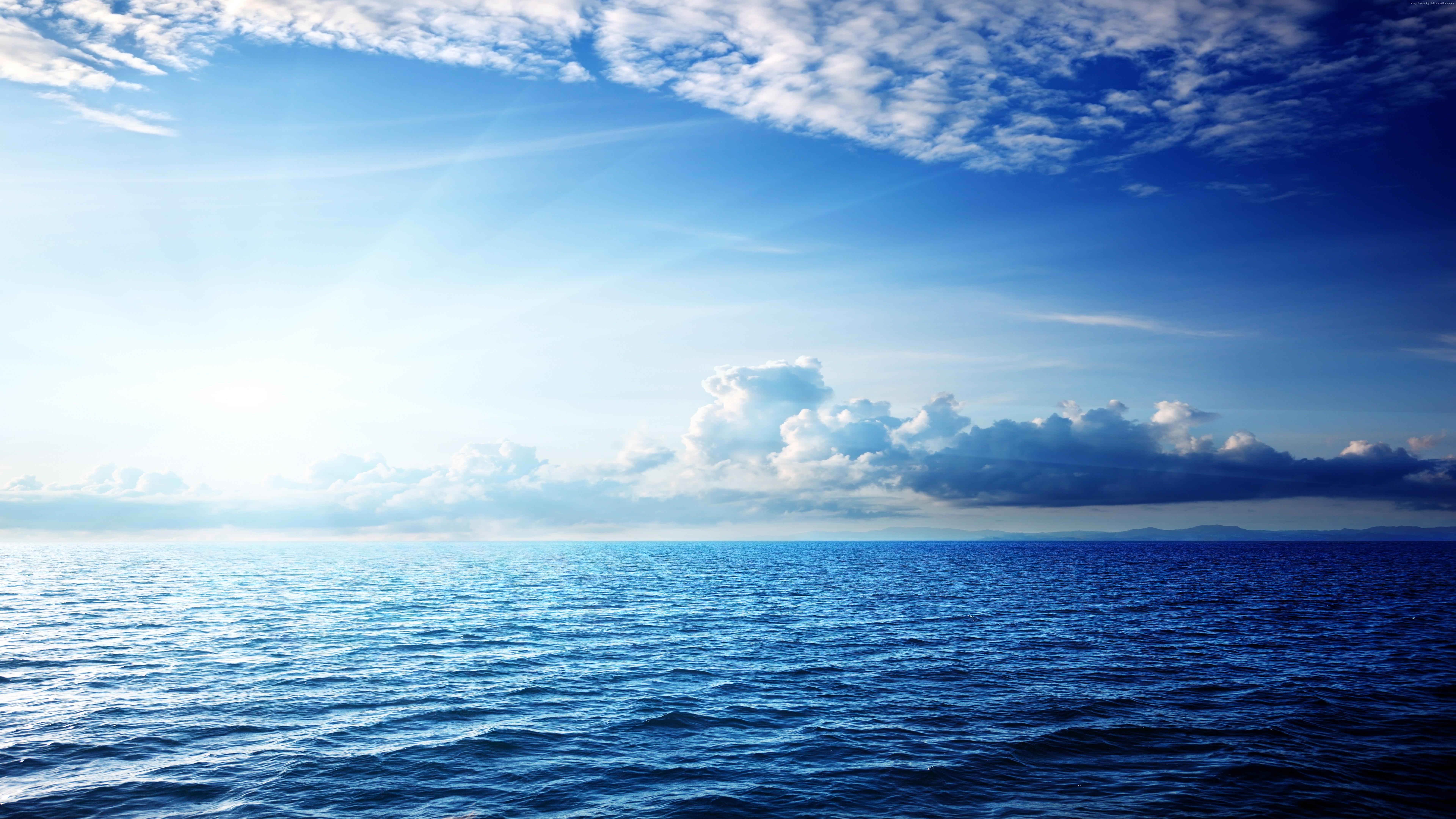 Фото красивого моря и голубого неба
