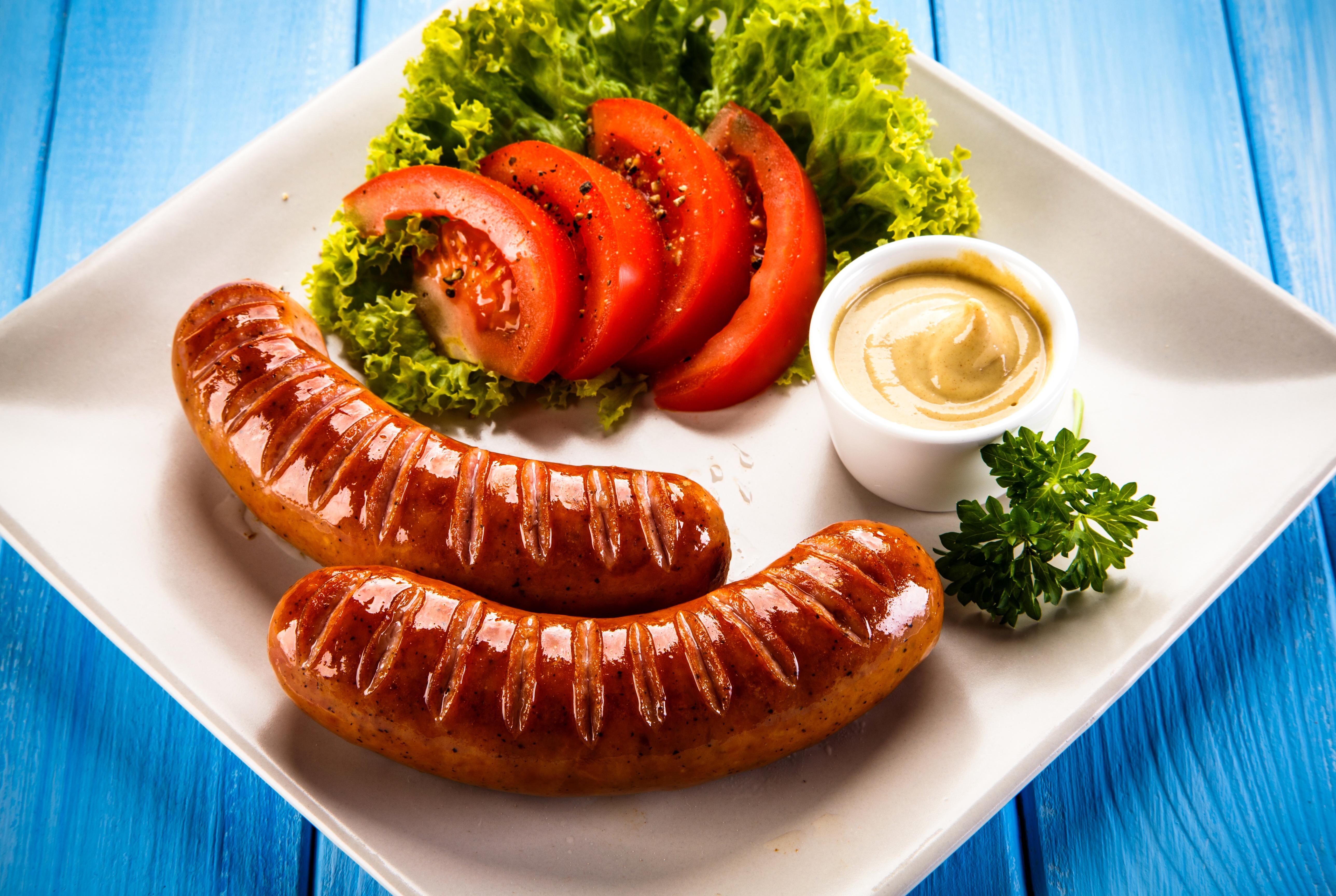 блюда из сосисок в картинках расскажем покажем, как