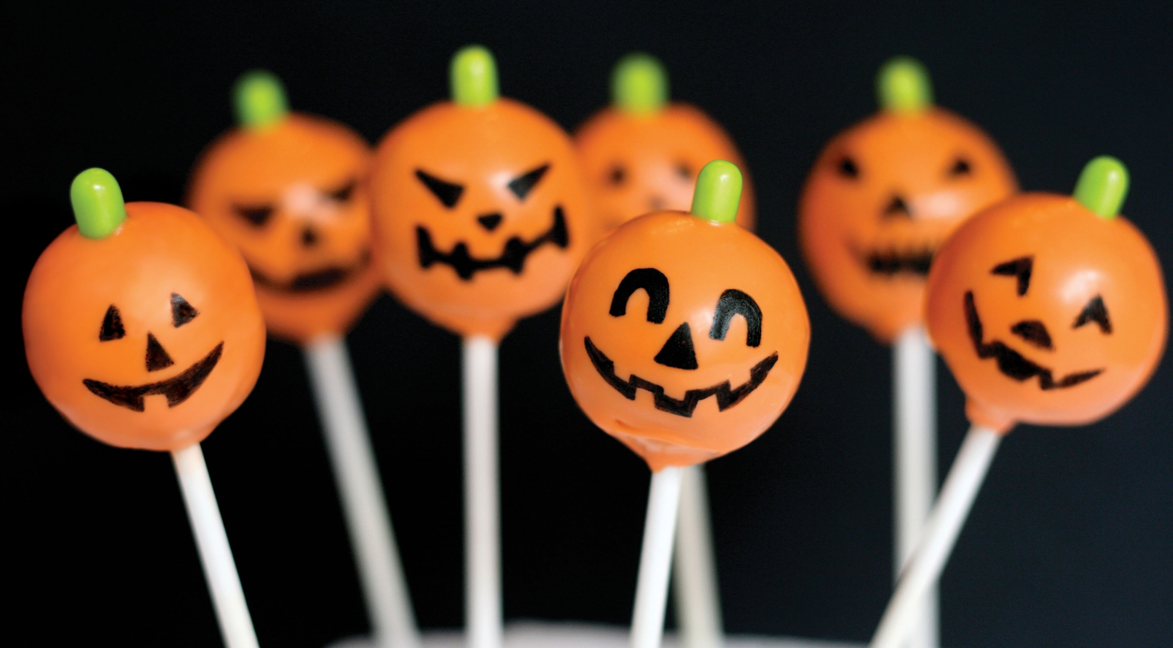 """Wallpaper Candy on a stick for the holiday of Halloween """" On"""