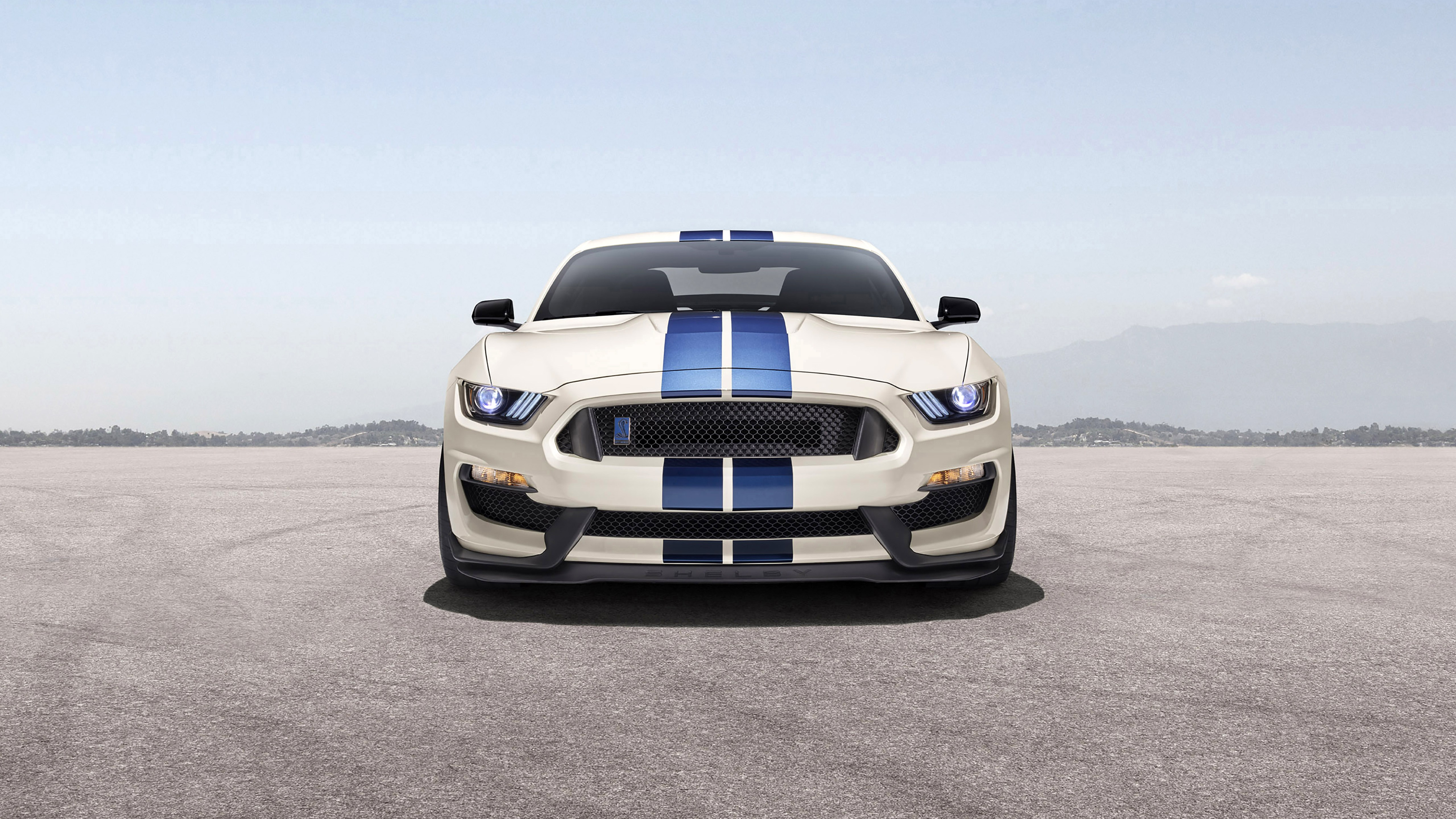 Wallpaper Shelby GT350 car, 2020 front view