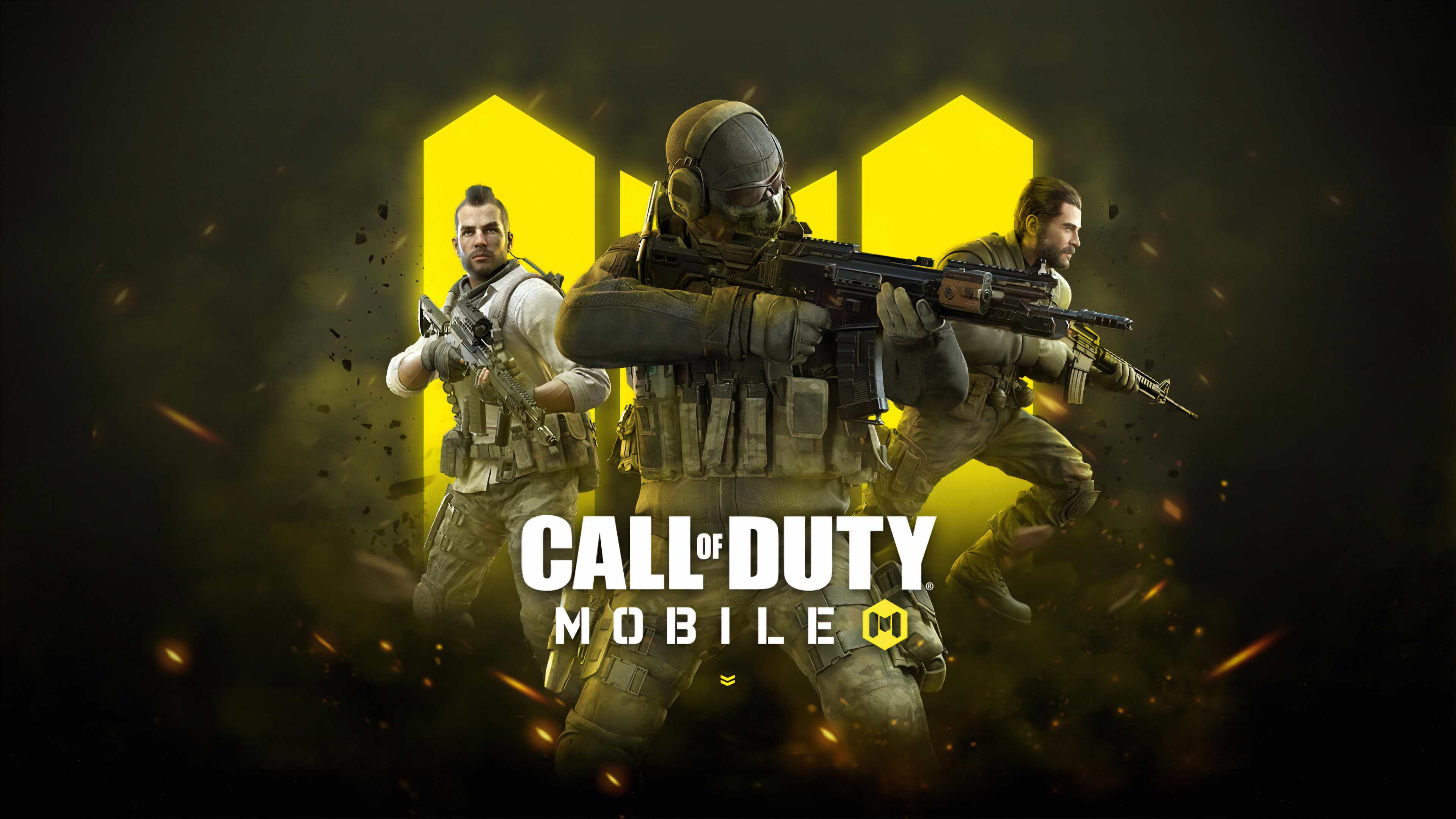 Wallpaper Call of Duty Mobile 2019 computer game poster