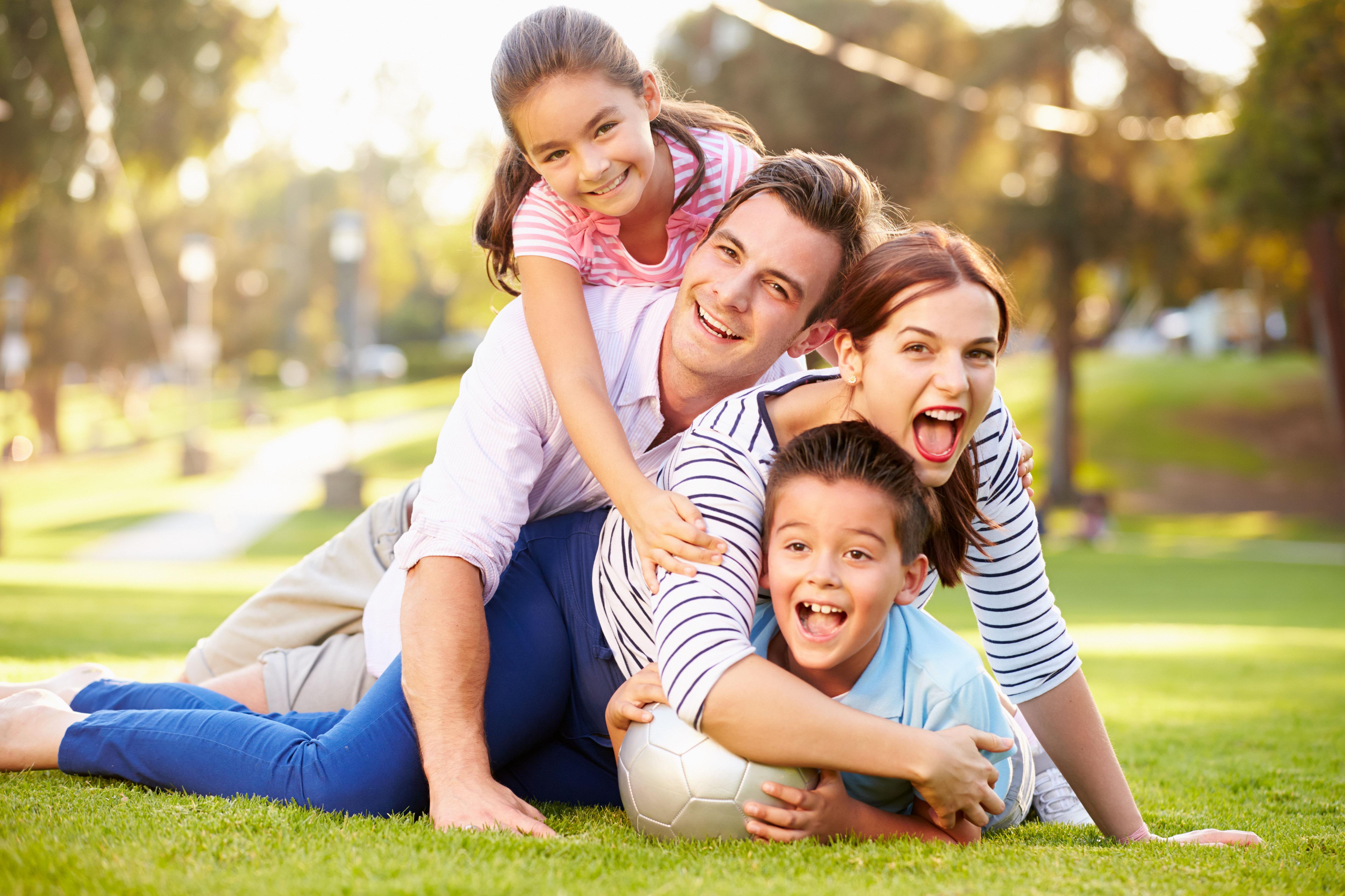Картинки про счастливую семью