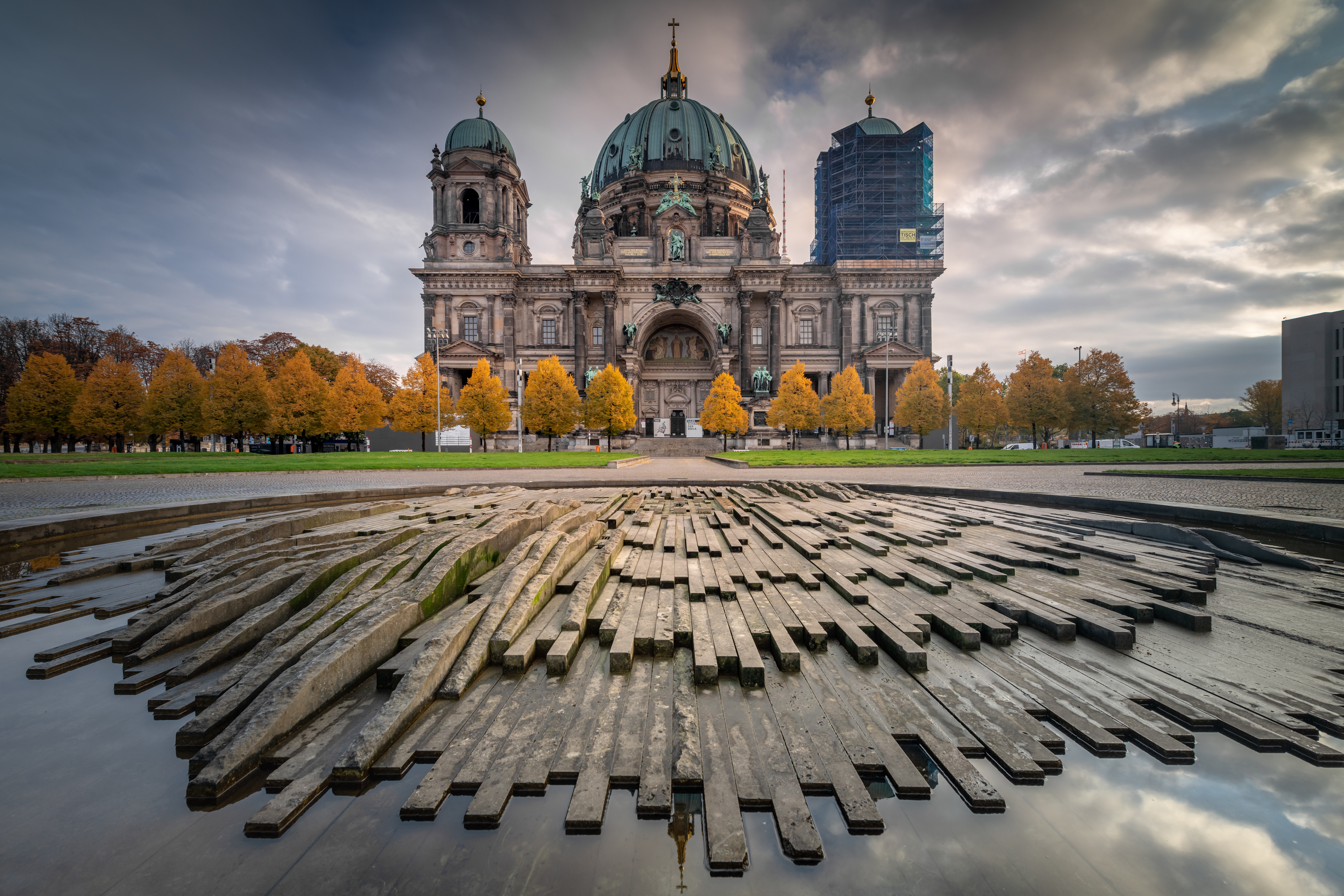 Wallpaper Berlin Cathedral view