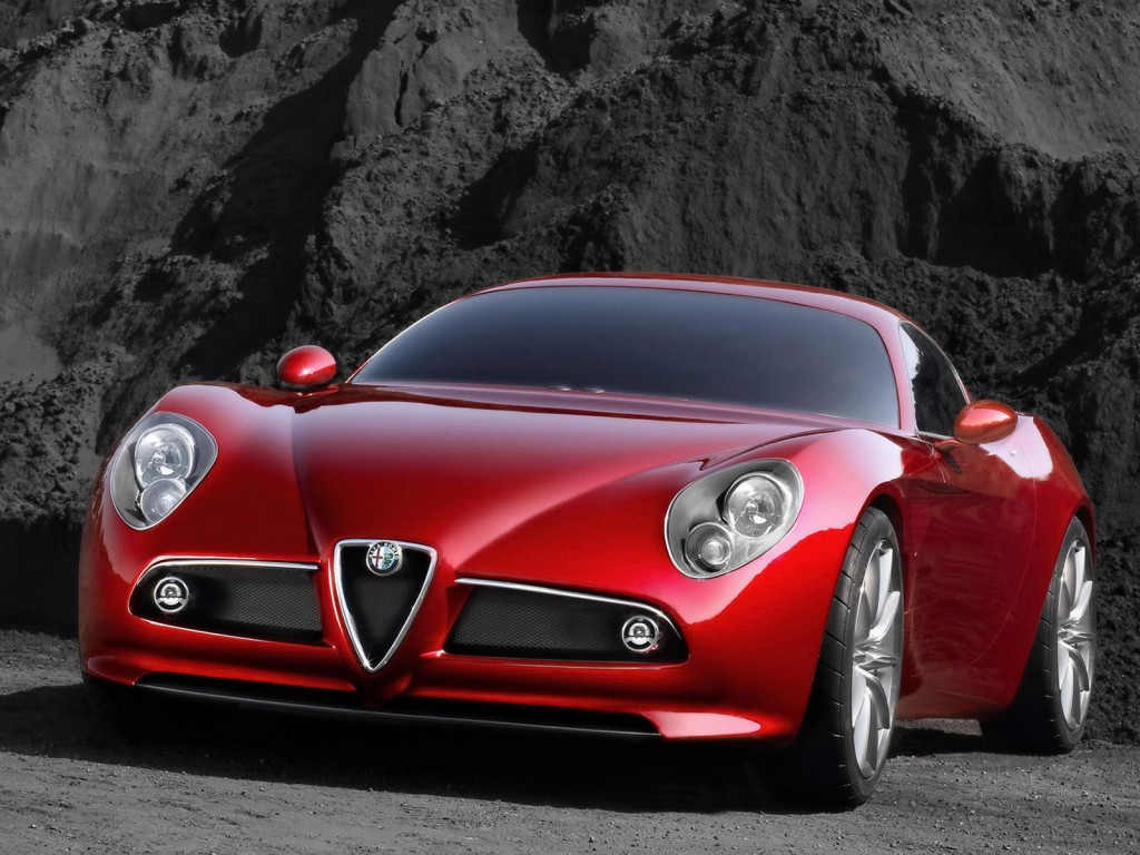 Wallpaper Alfa Romeo 8 С