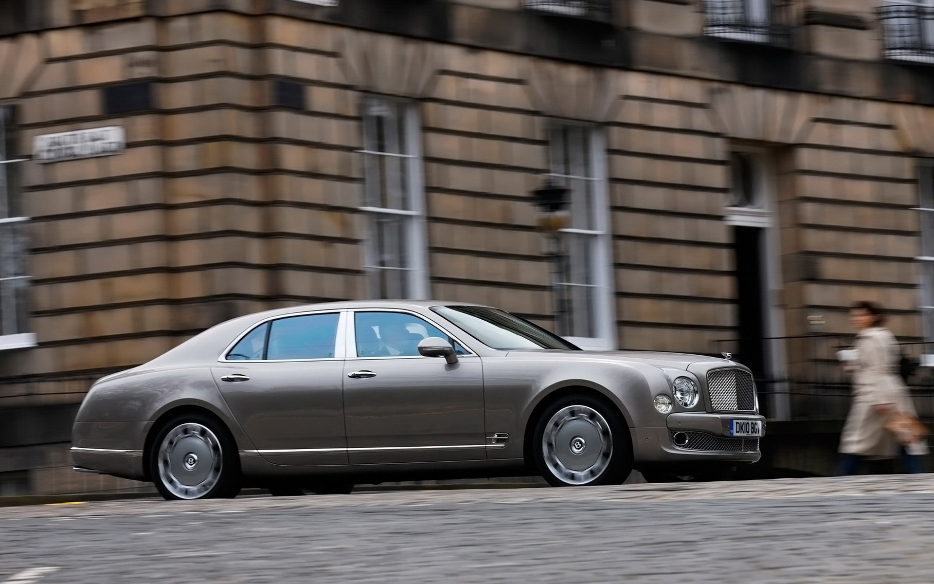 Wallpaper New Bentley-Mulsanne