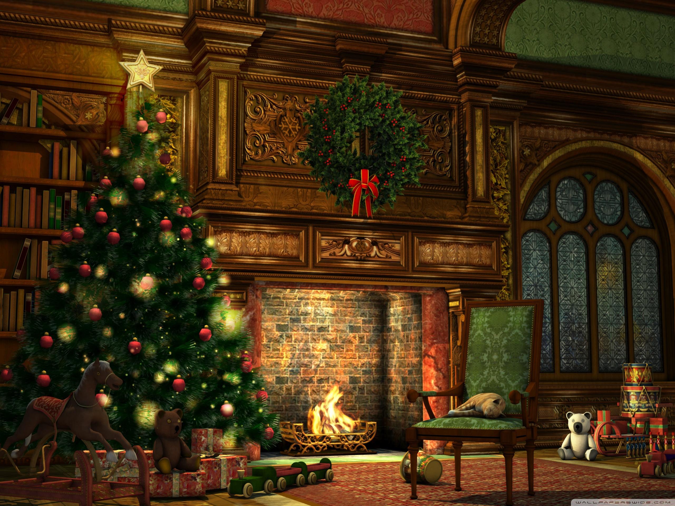 Картинки рождество обои на рабочий стол