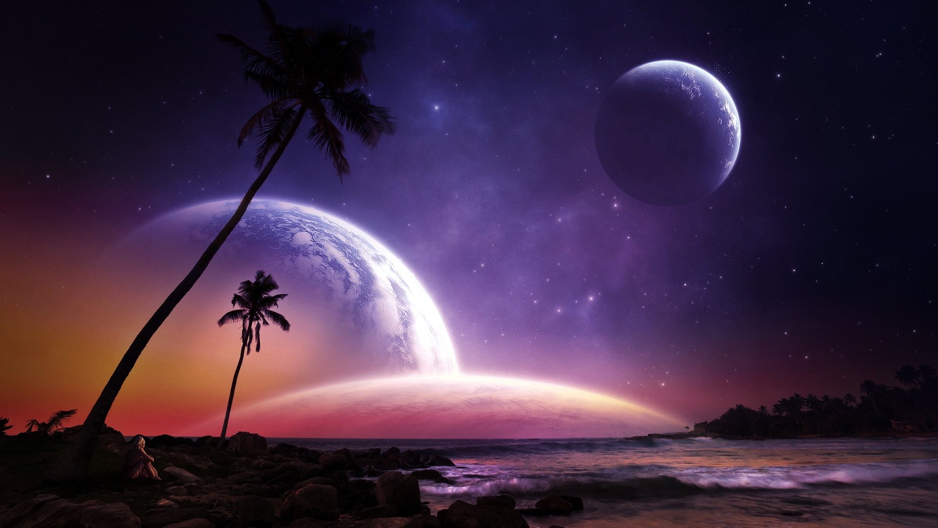 Красивые картинки фантастика космос