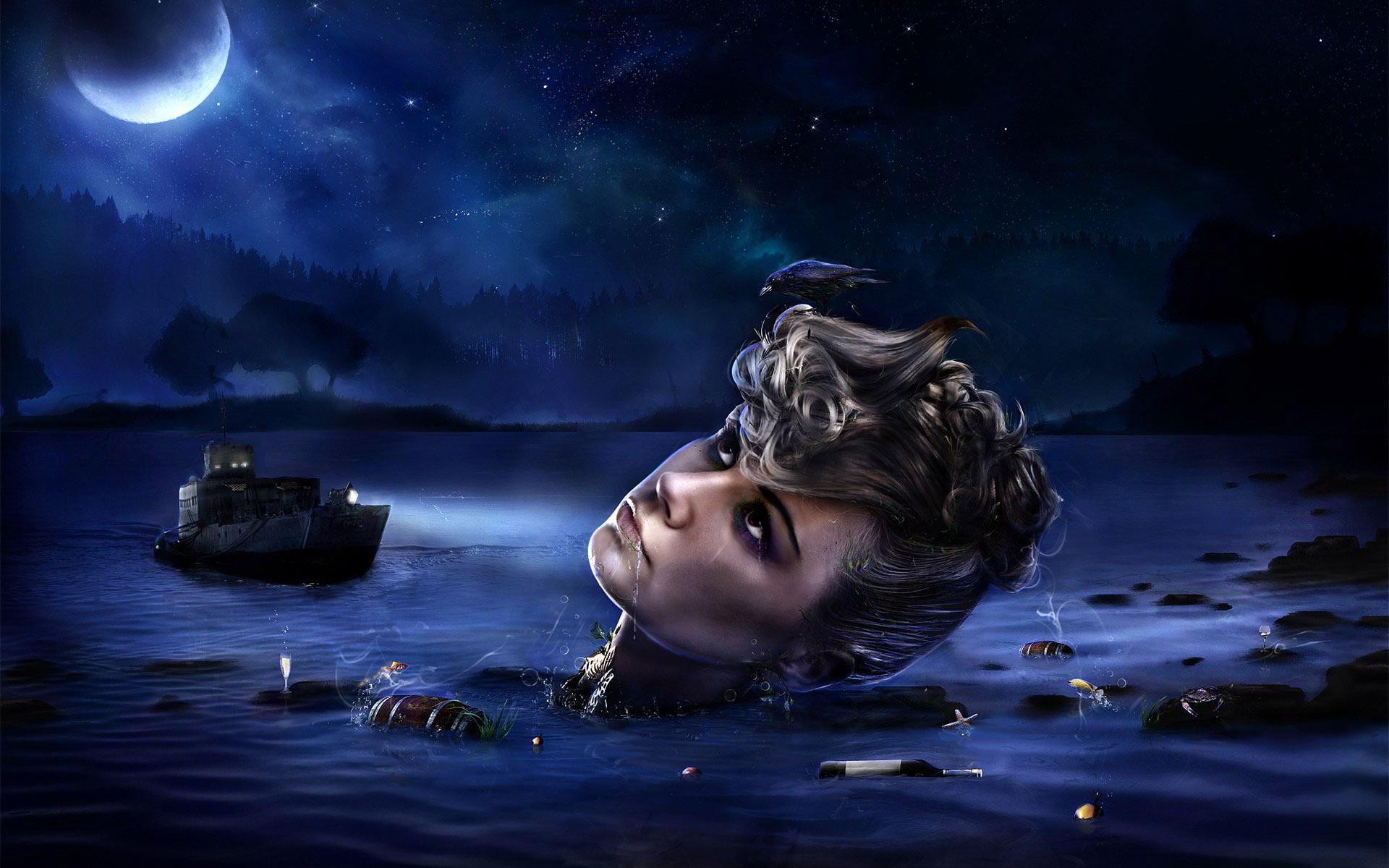 Картинки фантастической ночи