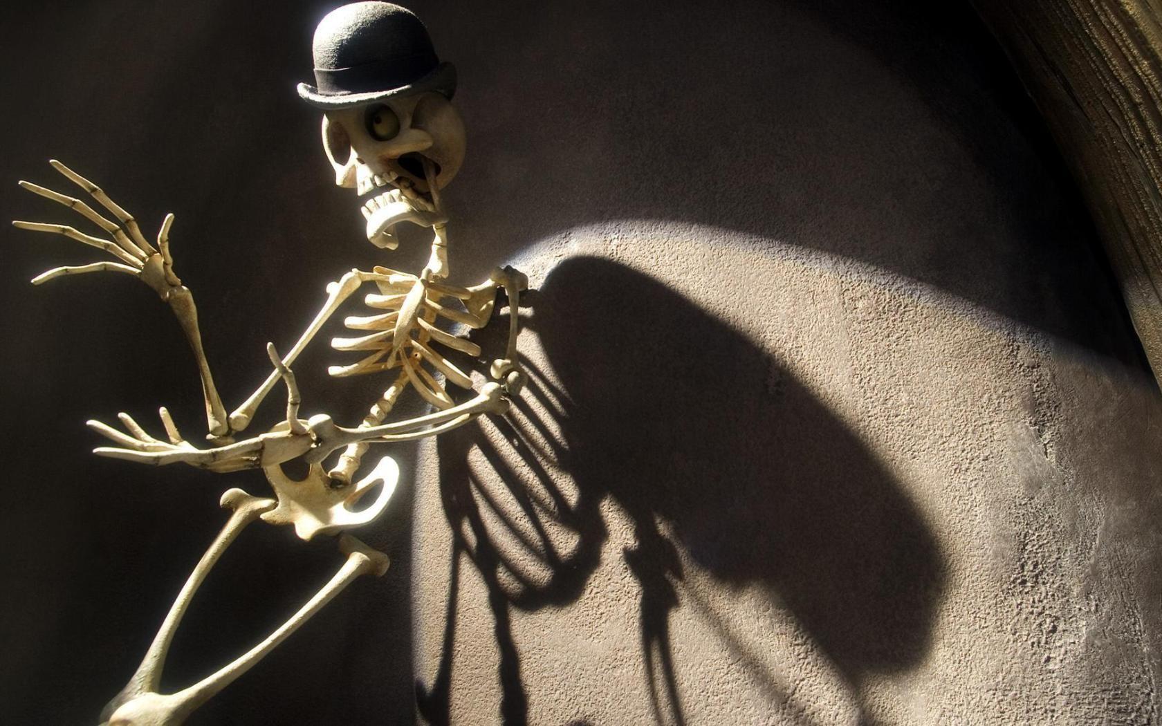 Прикольные картинки на аву скелеты, днем