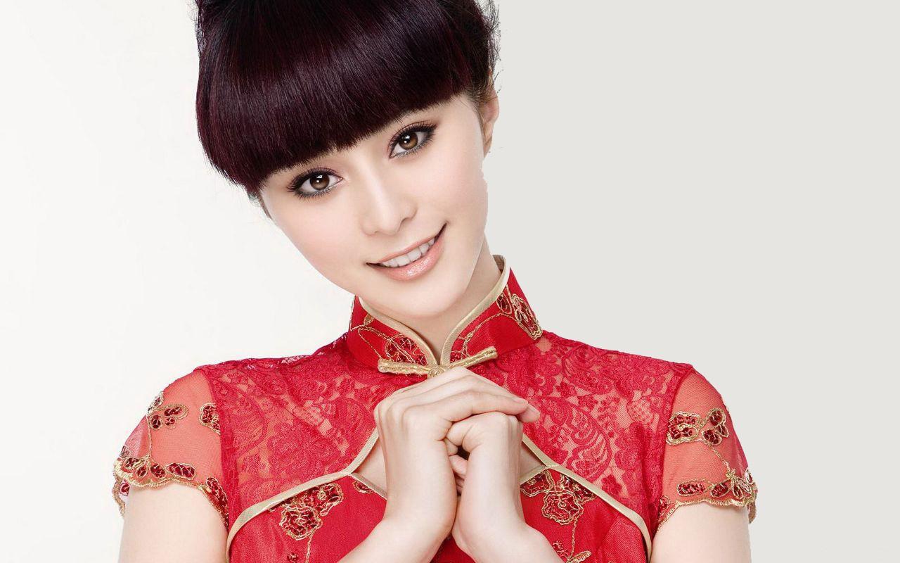 Красивый китайские девушки