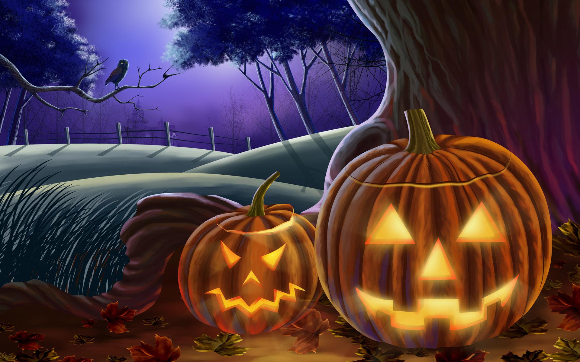 Картинки с хэллоуина страшные, поздравления