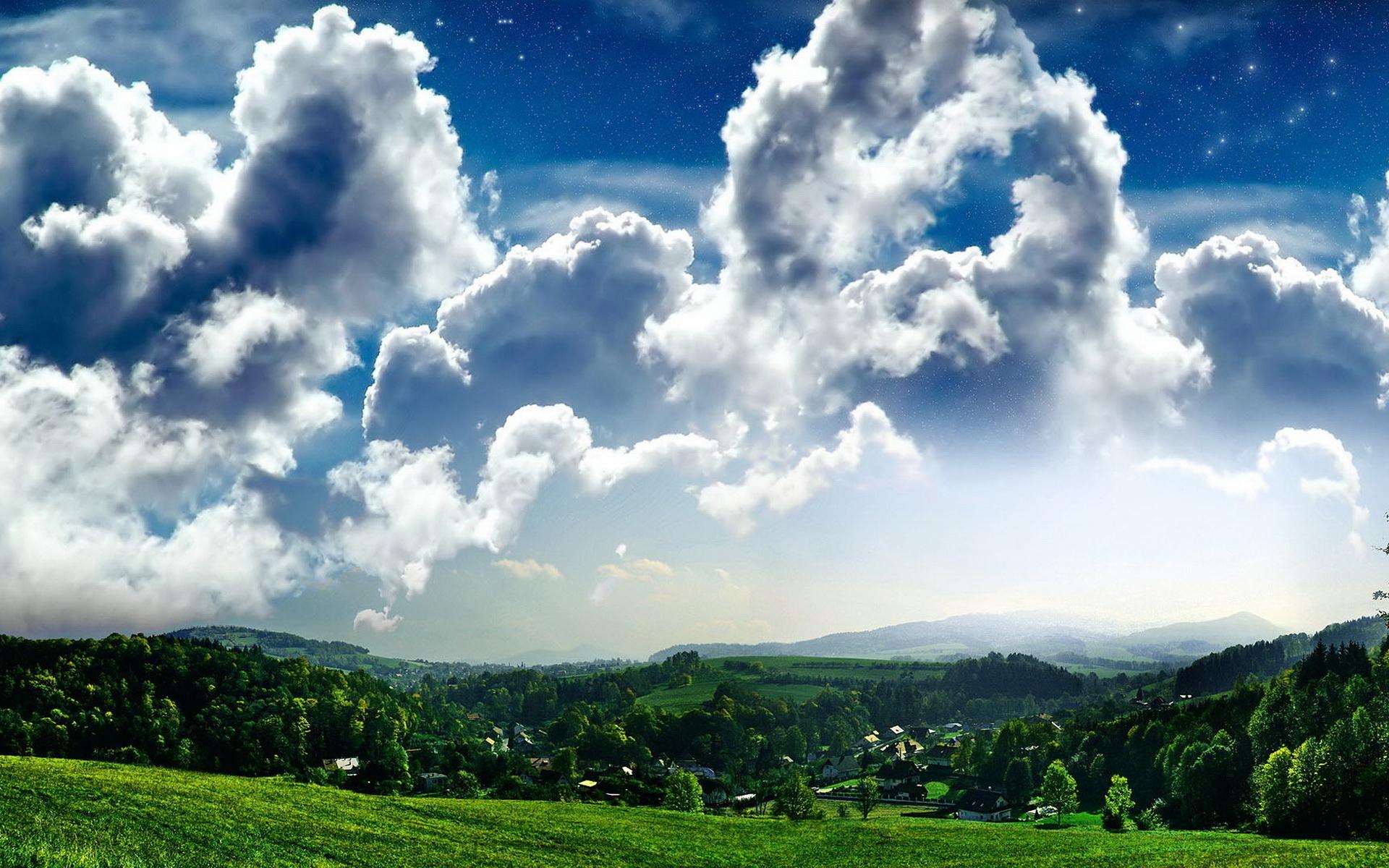 картинки красивое небо с облаками любит красивые