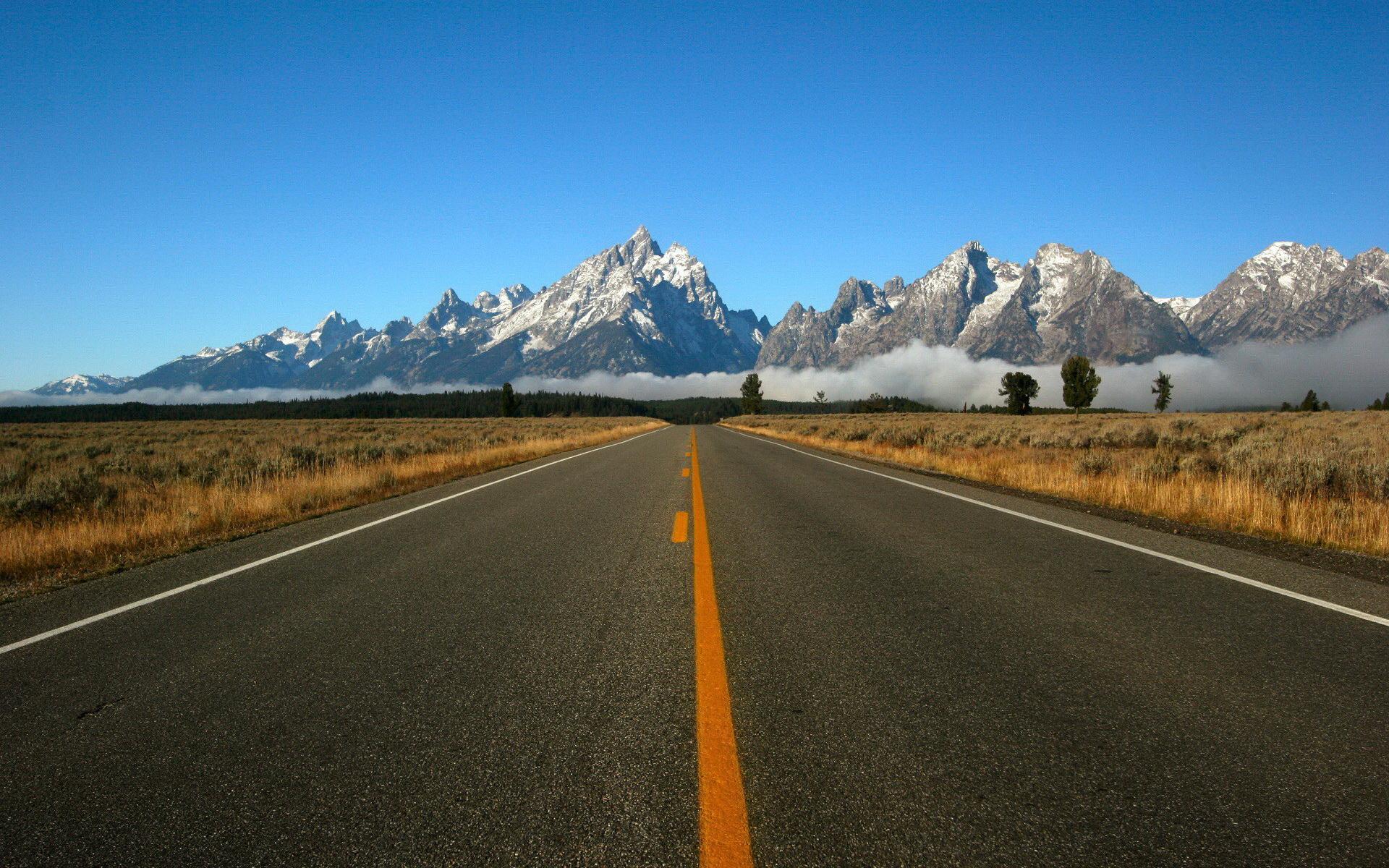 Картинка на обои дорога