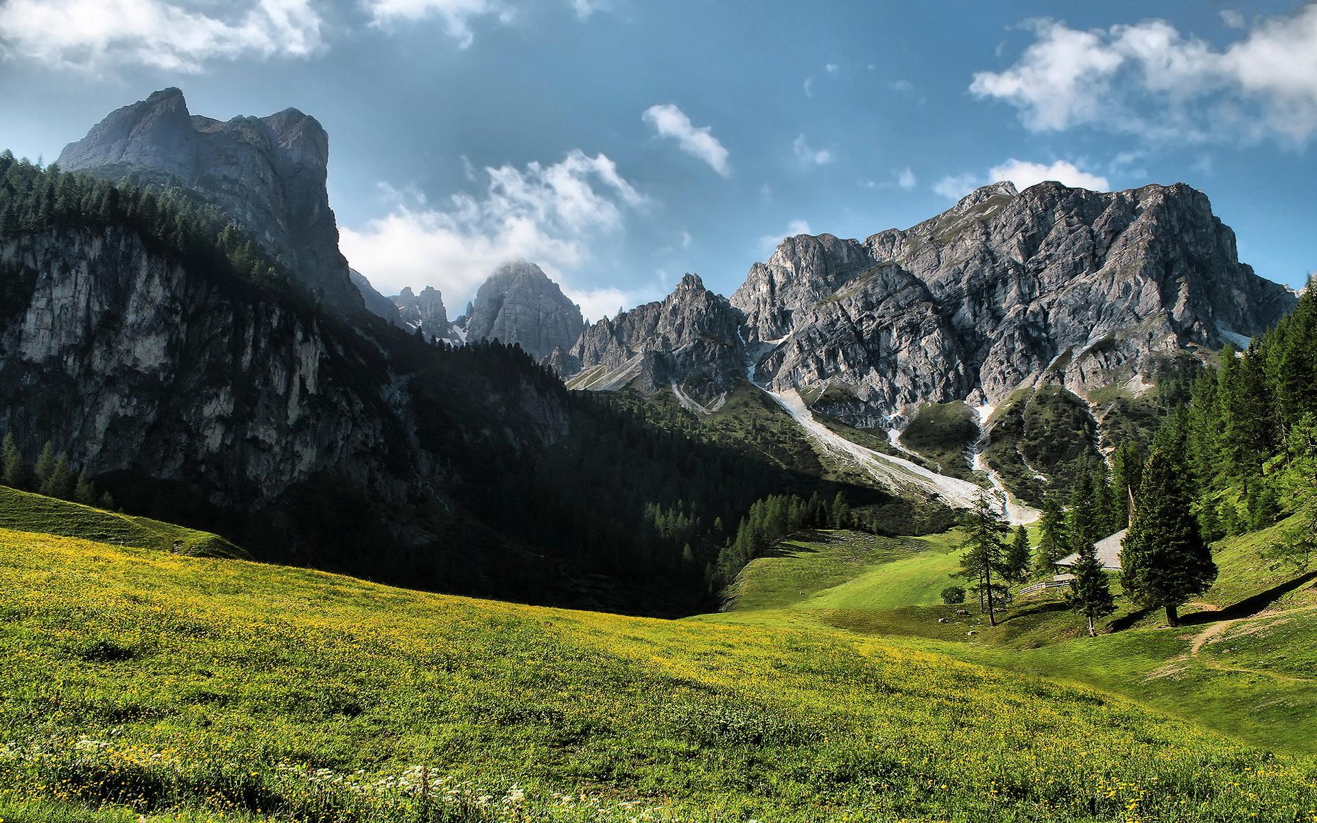 Красивые горы картинки