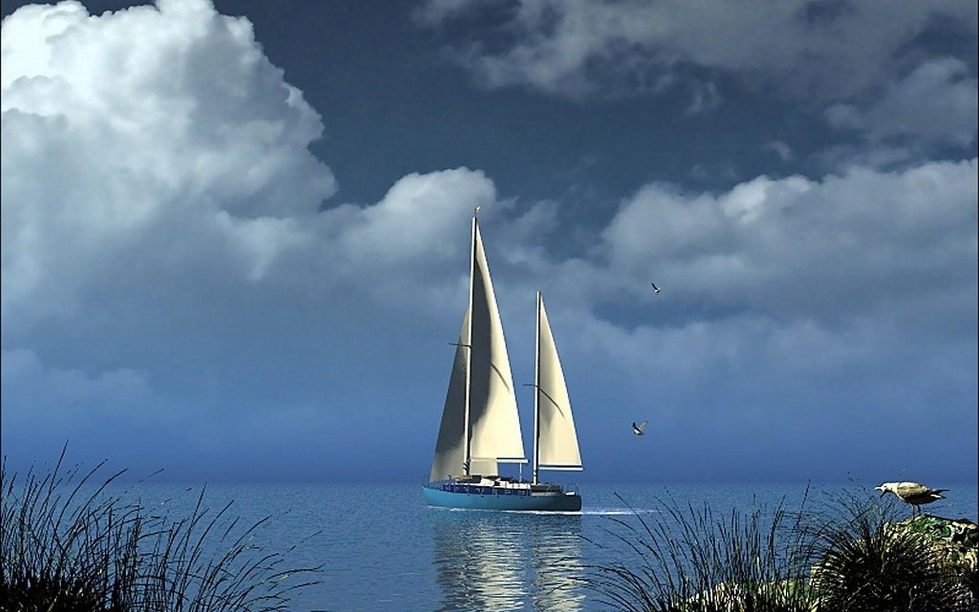 Обои яхта, yacht, море, porsche. Разное foto 14