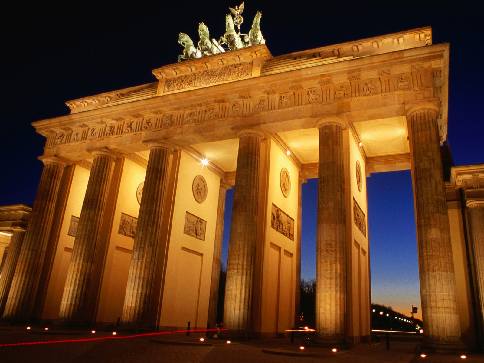 Wallpaper Brandenburg Gate