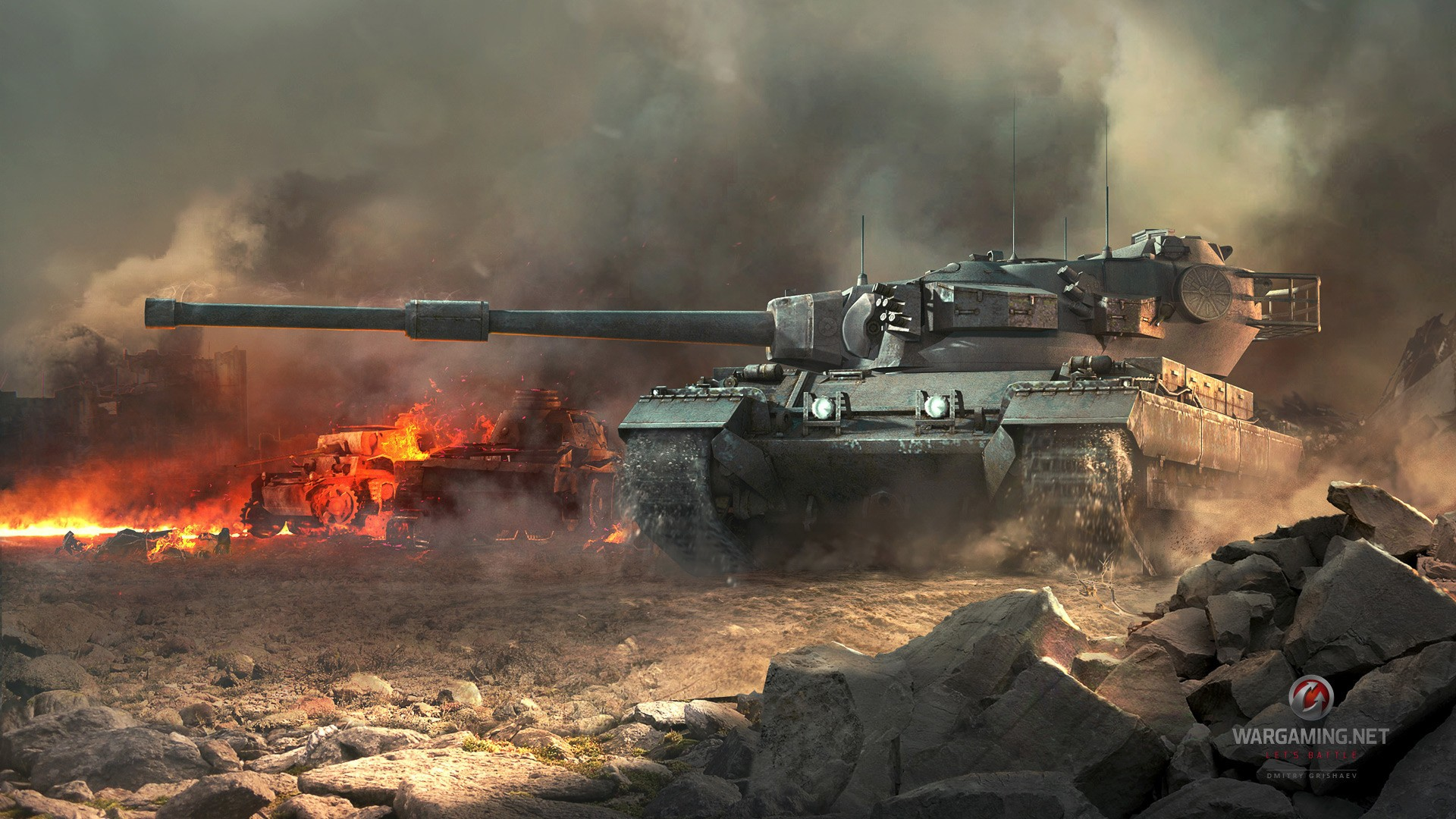 Wallpaper World of Tanks: the perfect tank