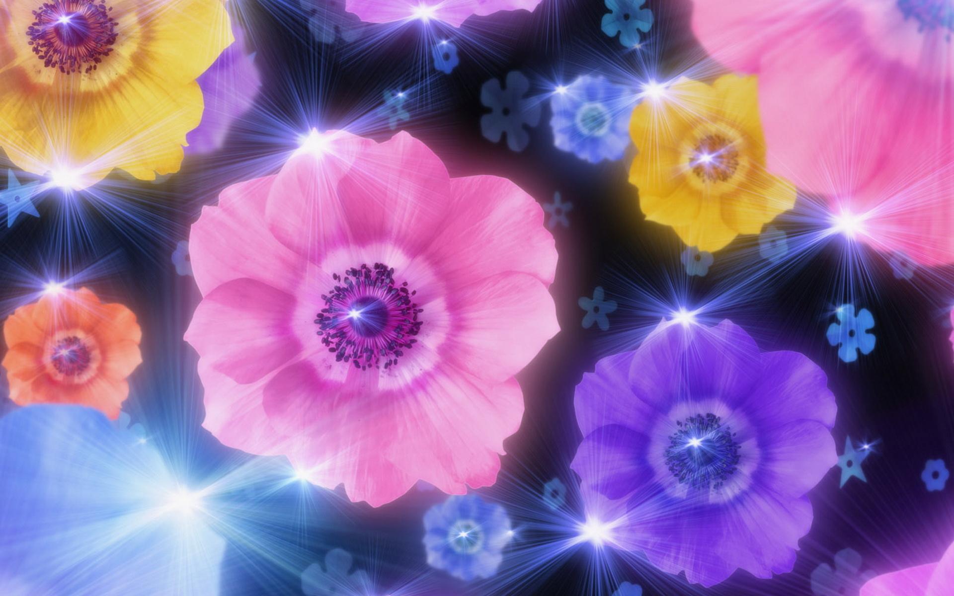 Beautiful Animated Flowers Wallpapers Dinocrofo