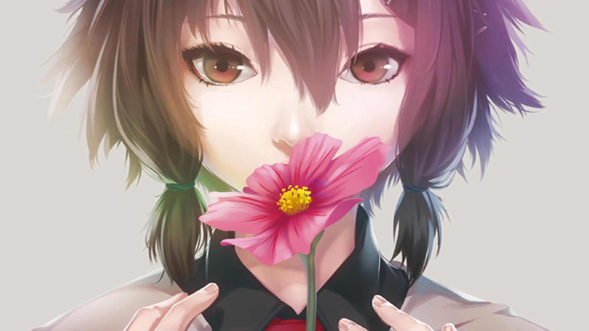 Цветок аниме