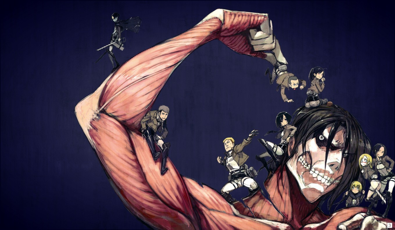 Из аниме атака титанов, опенинг 1 рус скачать песню из атака.