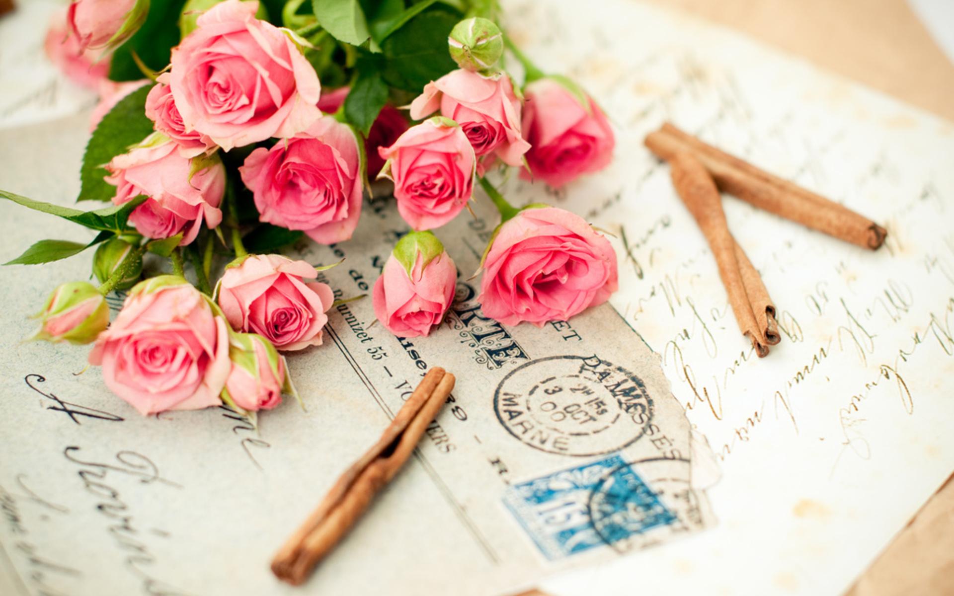 Обои рабочего стола мужчины и цветы
