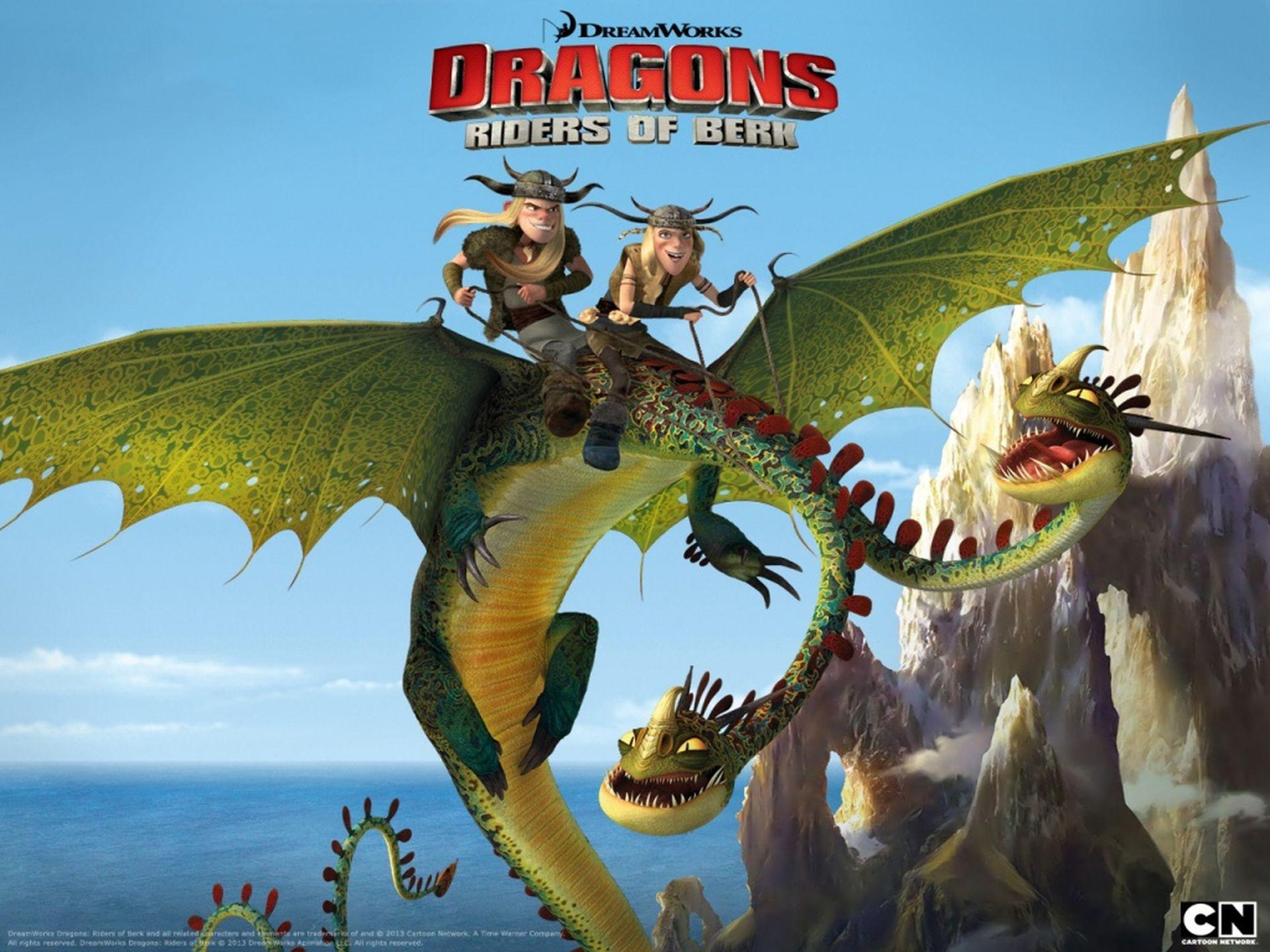 Драконы и всадники олуха 3 сезона (2012) скачать торрентом.