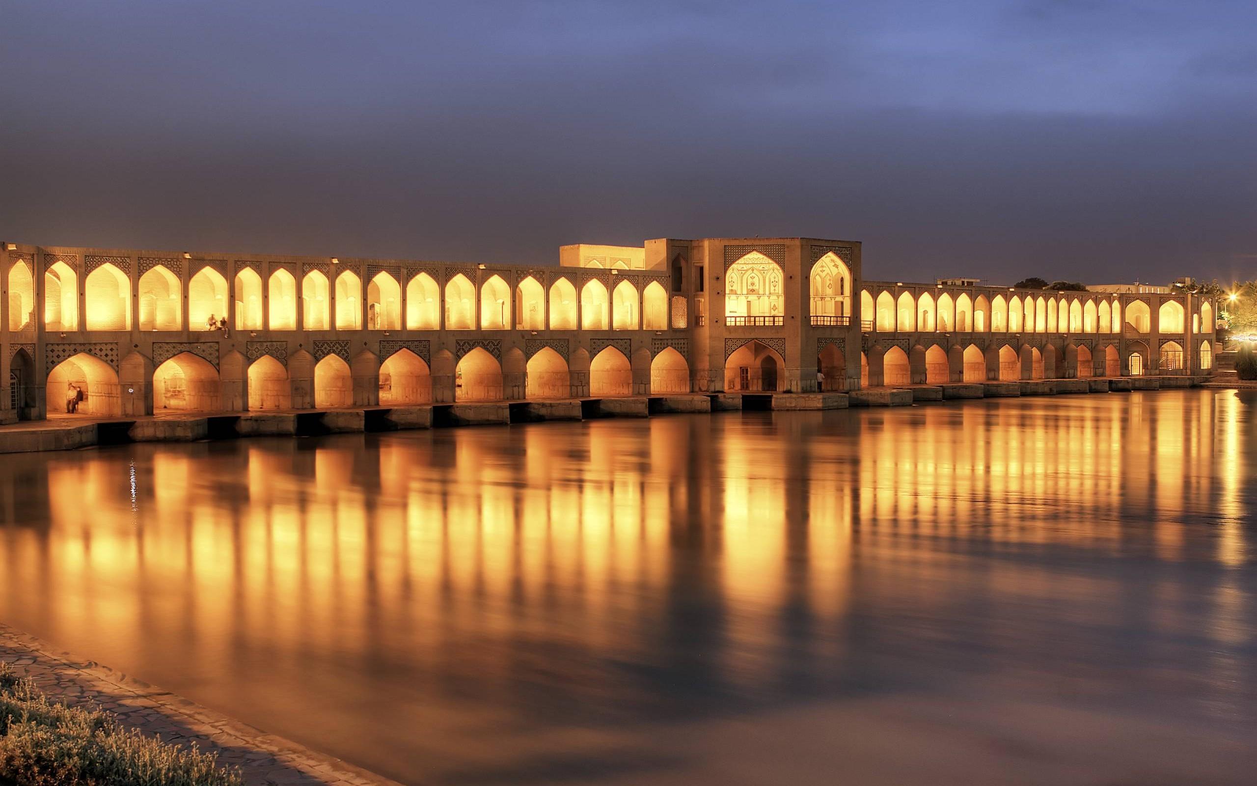 عکس پل امام حسین زنجان