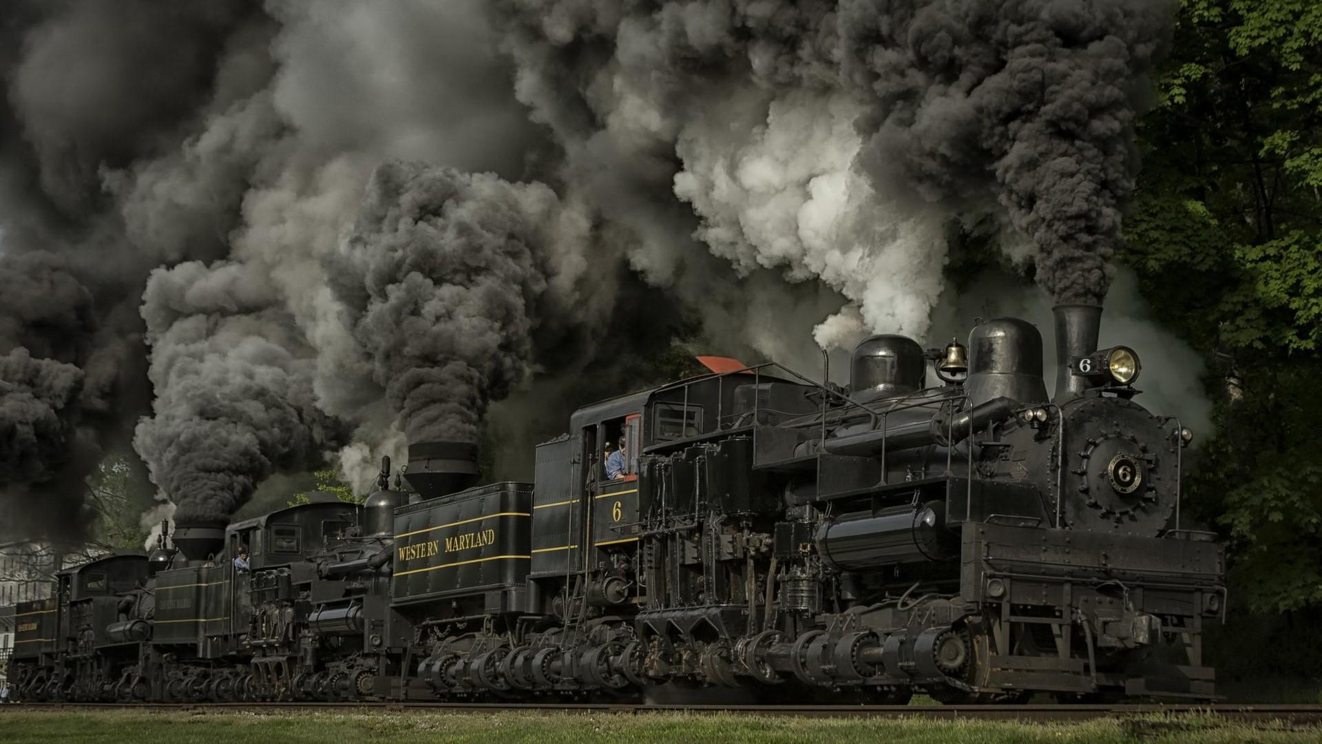 Обои на рабочий стол 1366х768 локомотивы