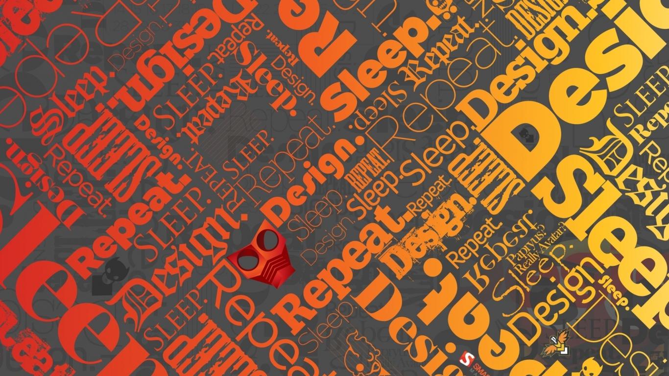 wallpaper bright creative design » on-desktop - desktop