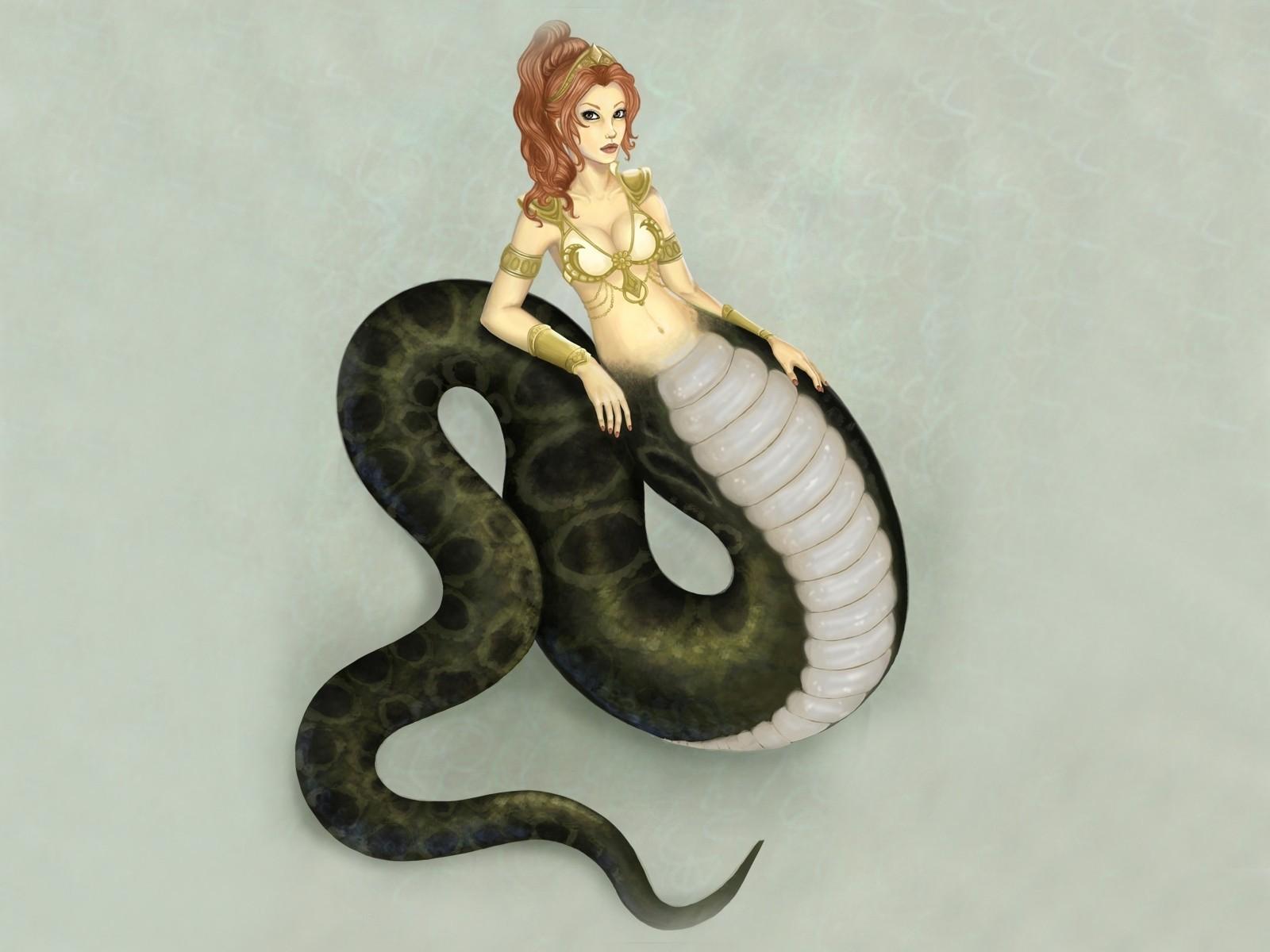 Naga snake woman porn erotic photo