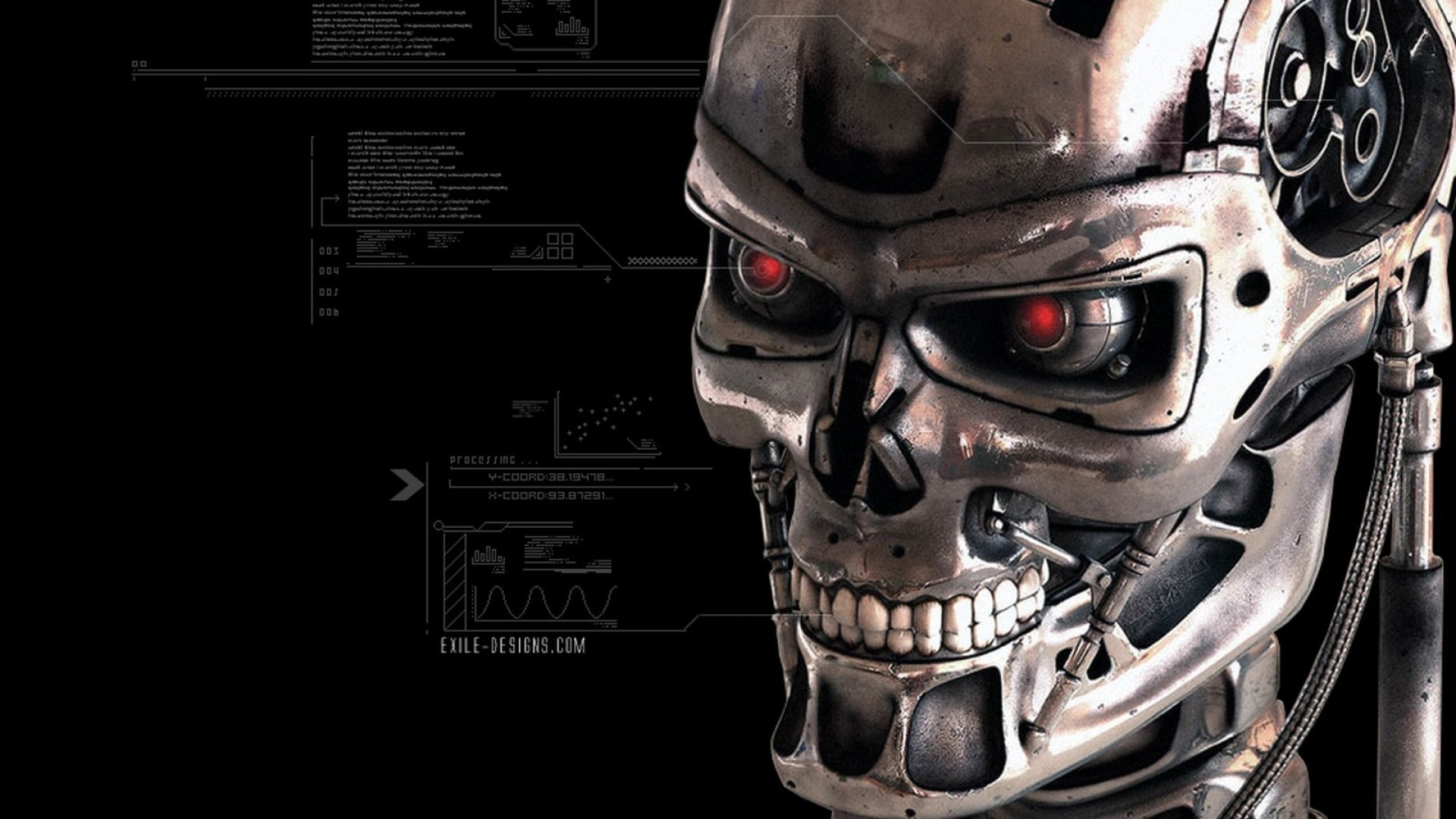 terminator salvation background wallpaper Terminator salvation (2009) wallpaper for download home news celebrity news movie news tv news terminator salvation wallpaper.
