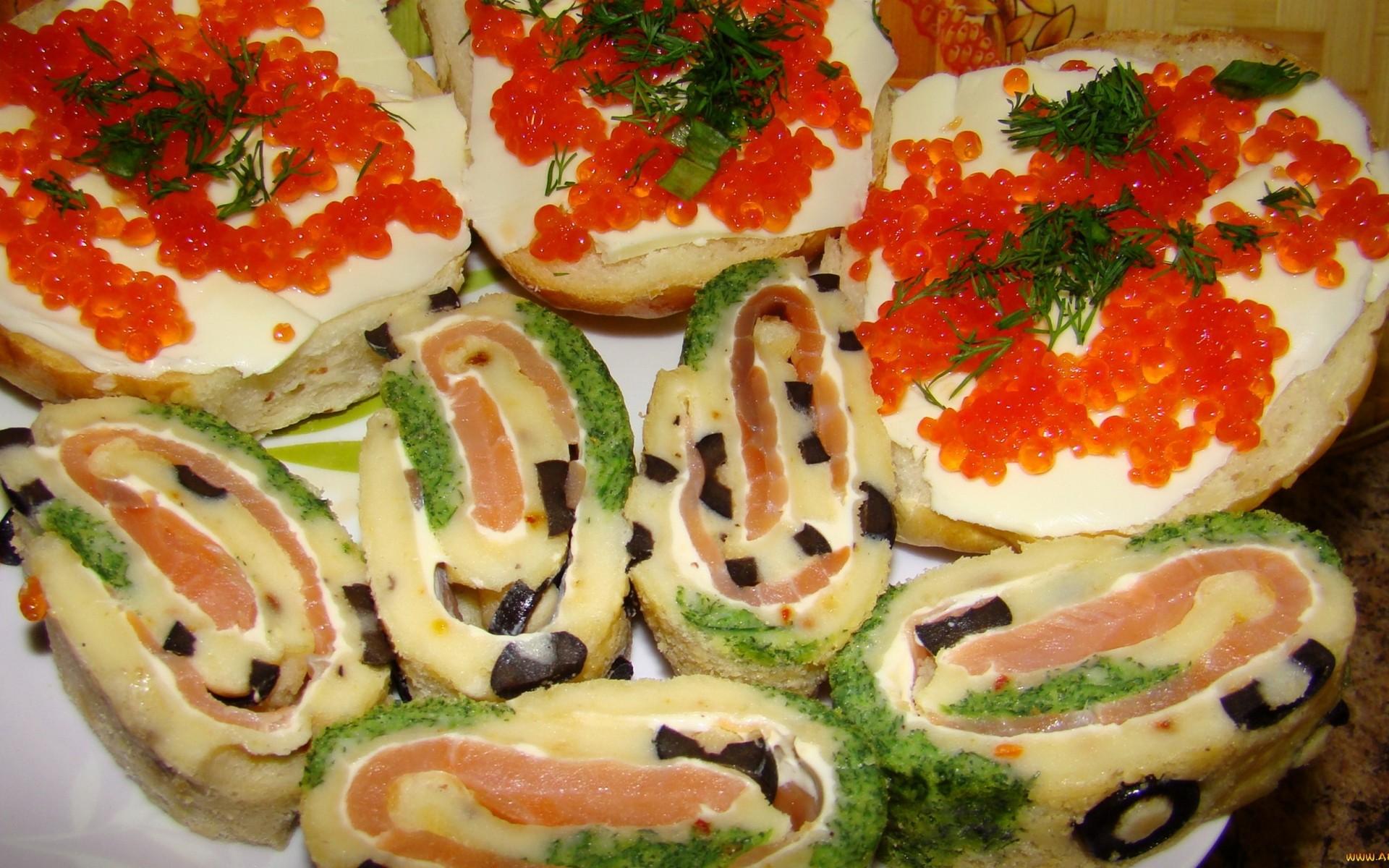 Бутерброды на свадьбу рецепт