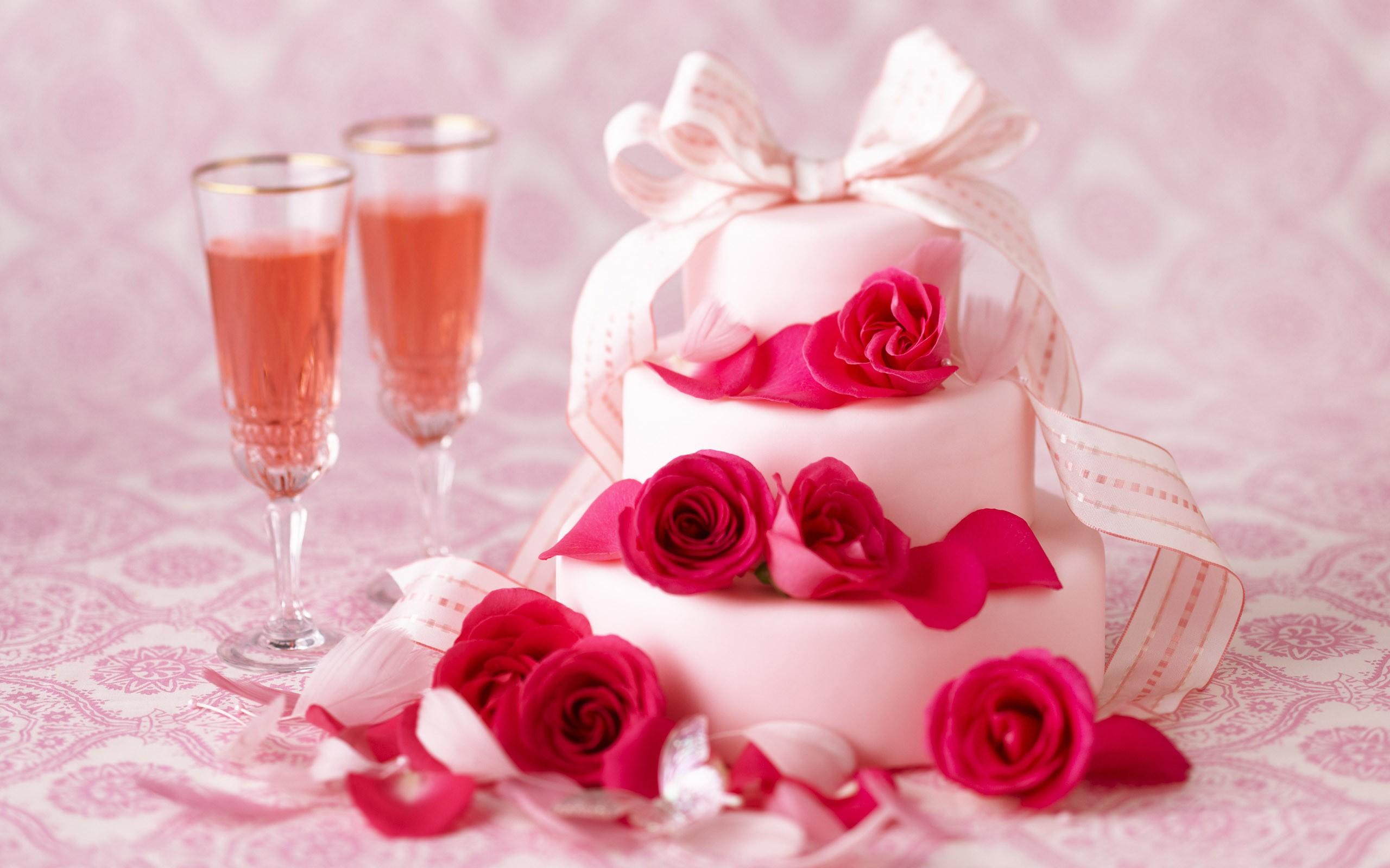 Свадебные торты обои на рабочий стол