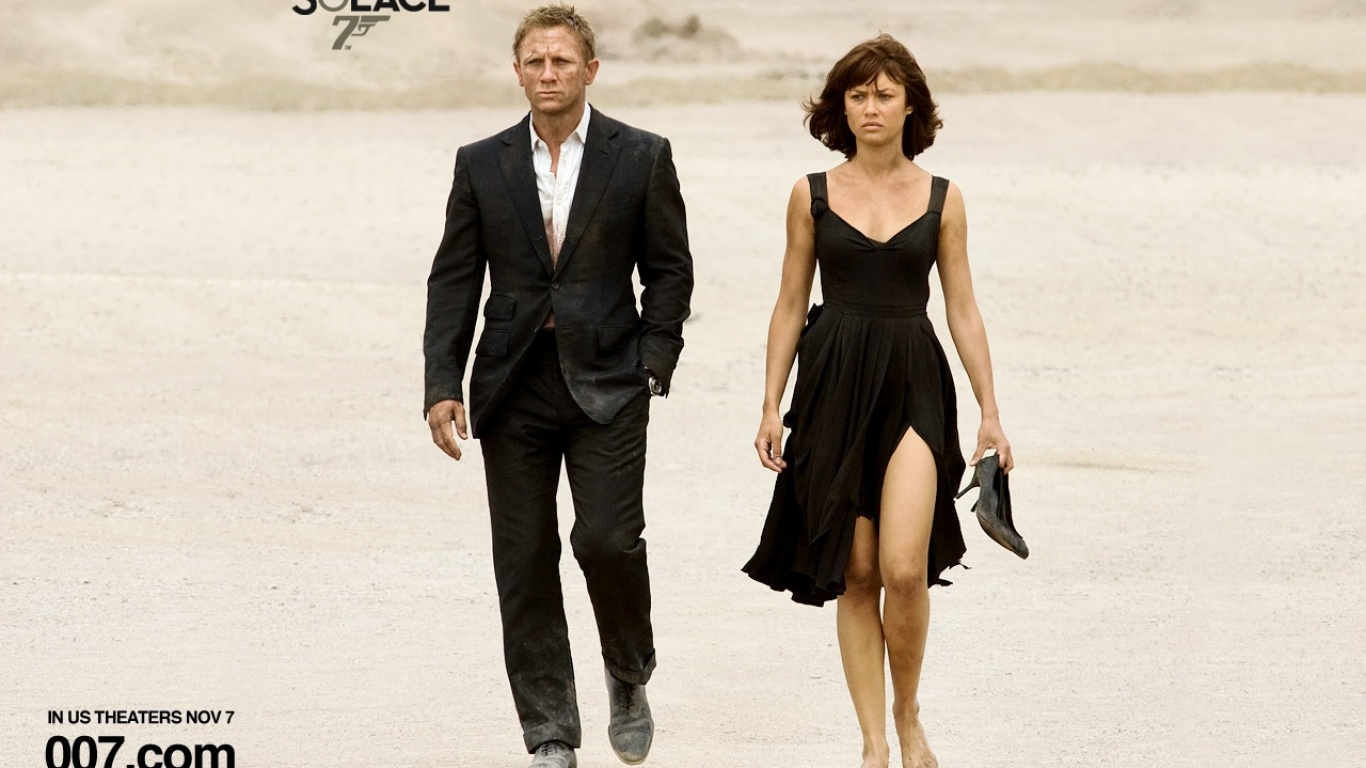 quantum of solace and james bond