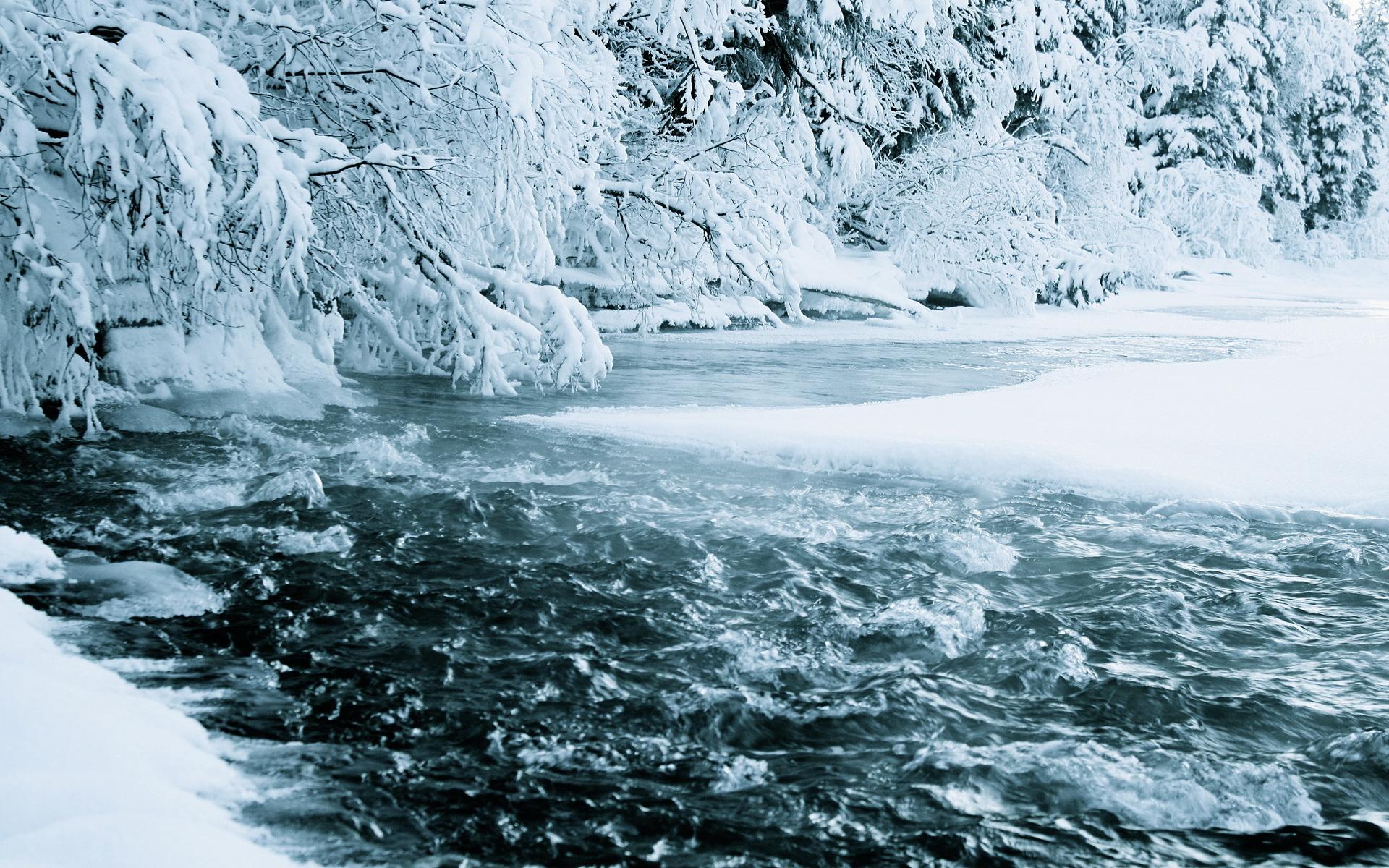 широкоформатные обои на рабочий стол зима скачать бесплатно