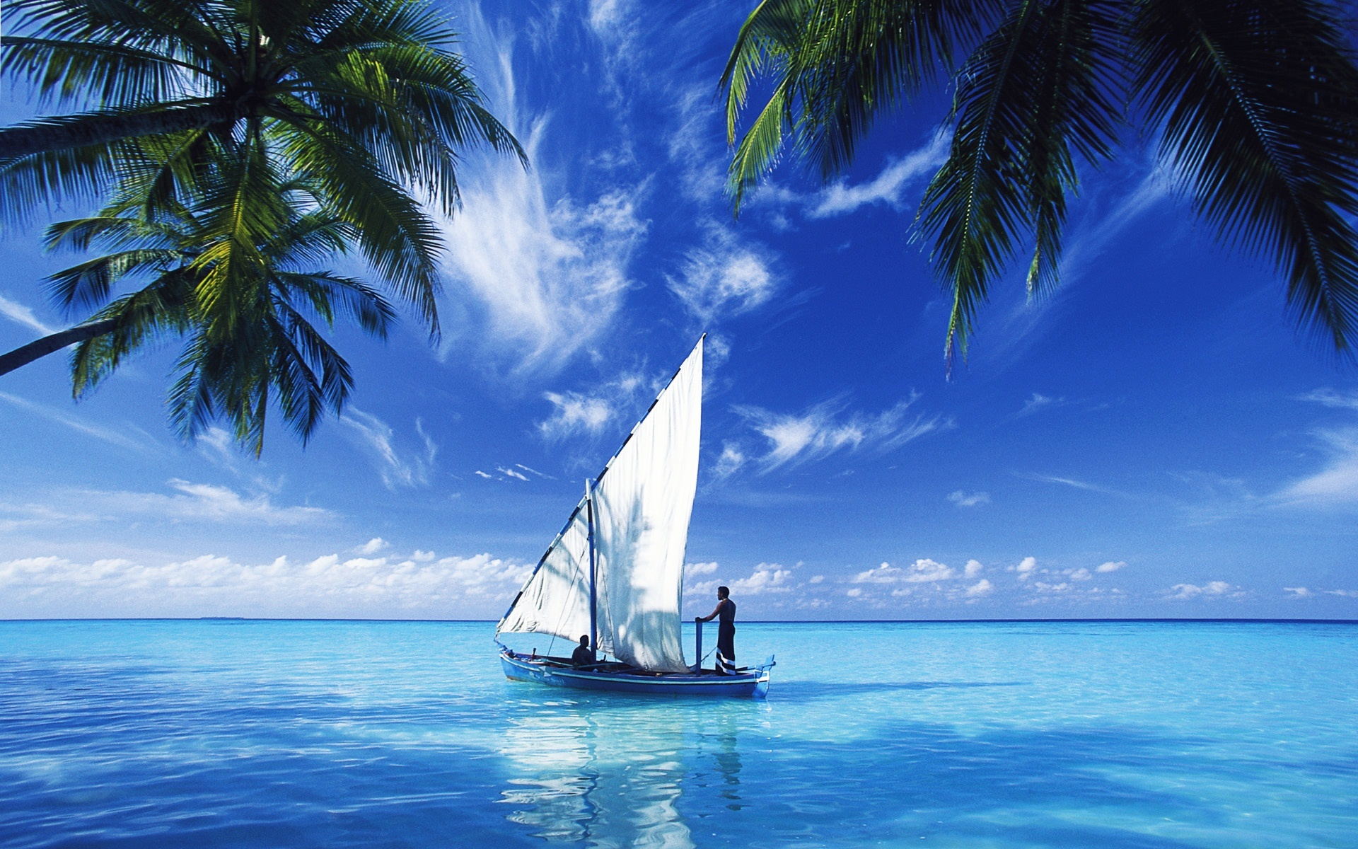 лодка море океан