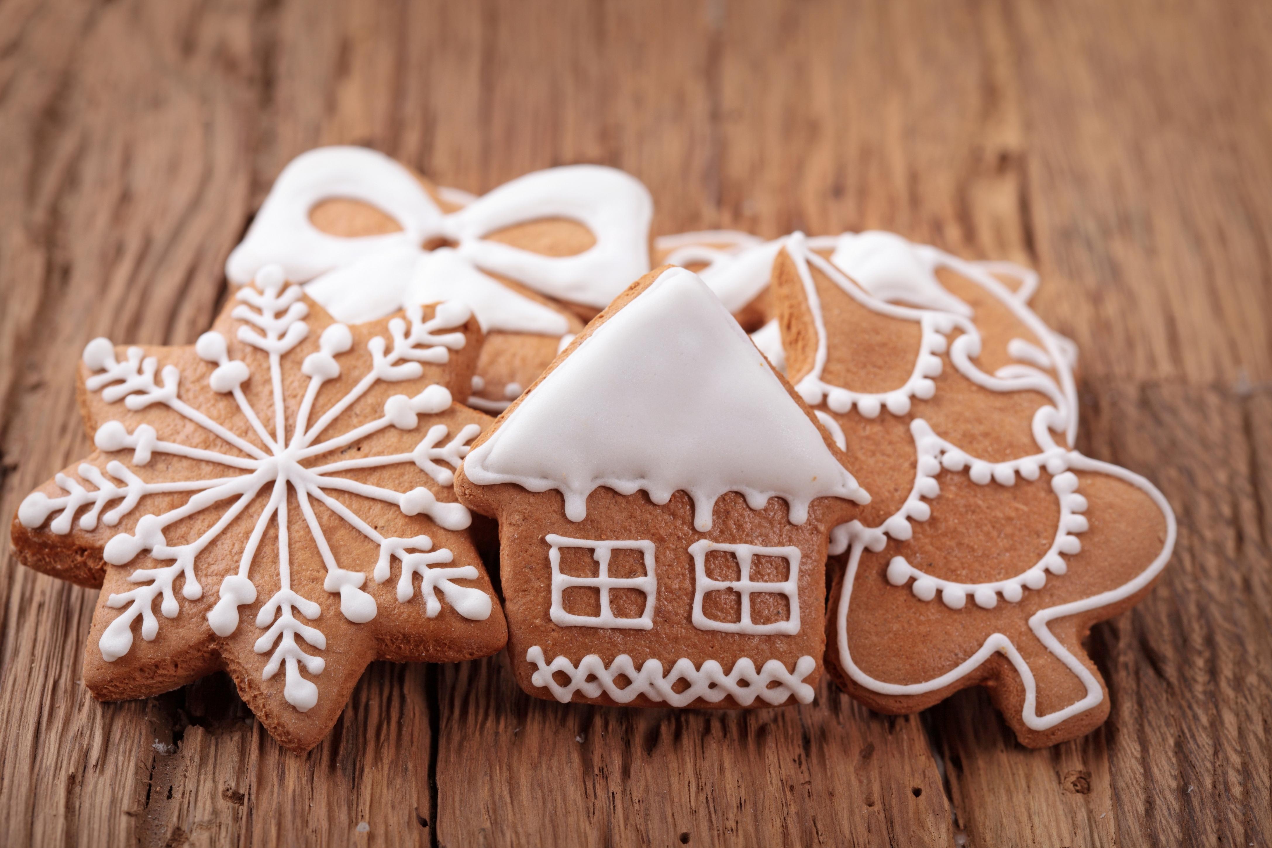 Печенье своими руками на новый год