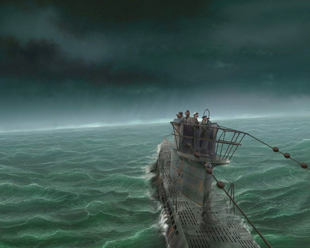 лодка корабль люди в воде