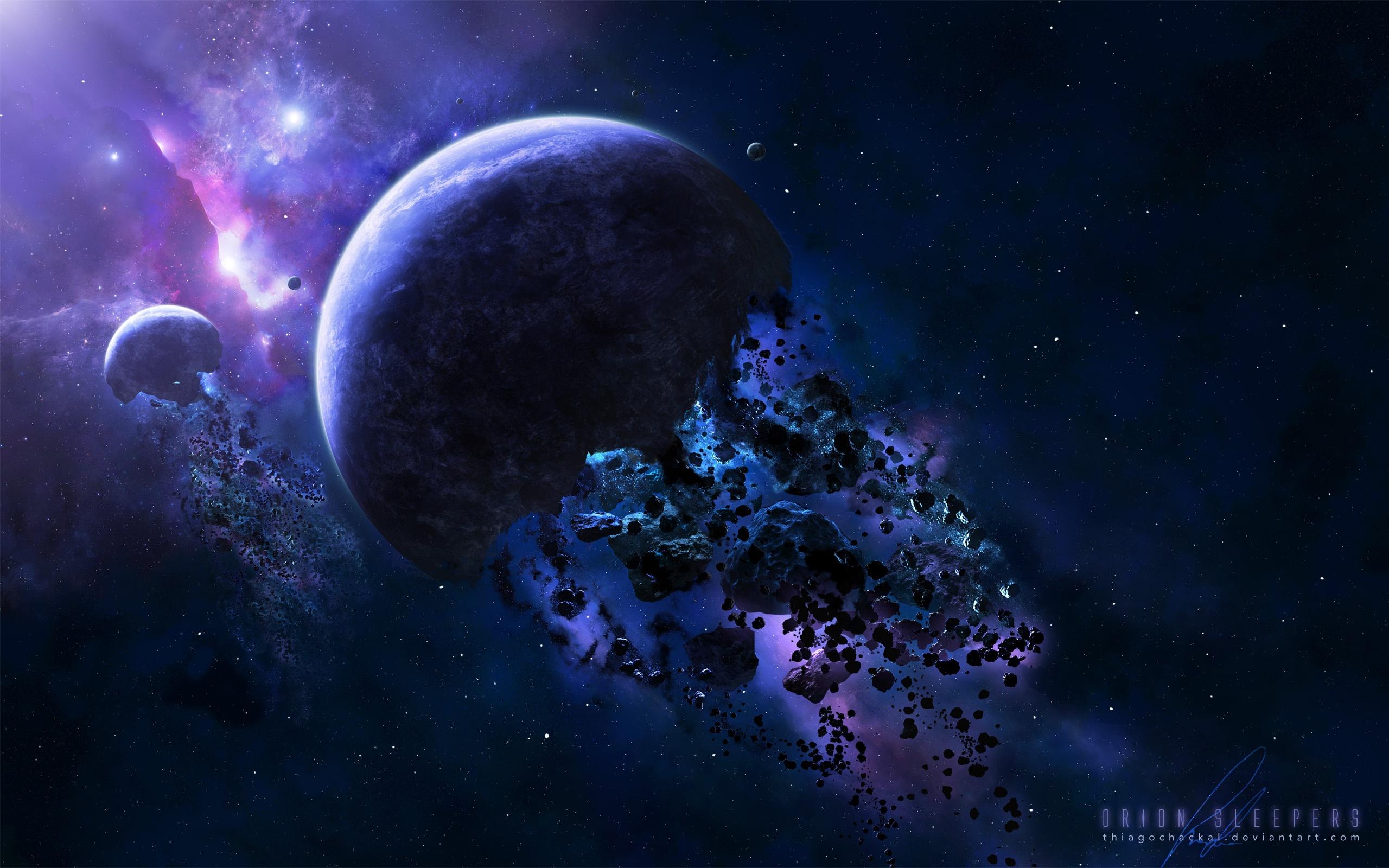обои для рабочего стола космос метеориты № 610714  скачать