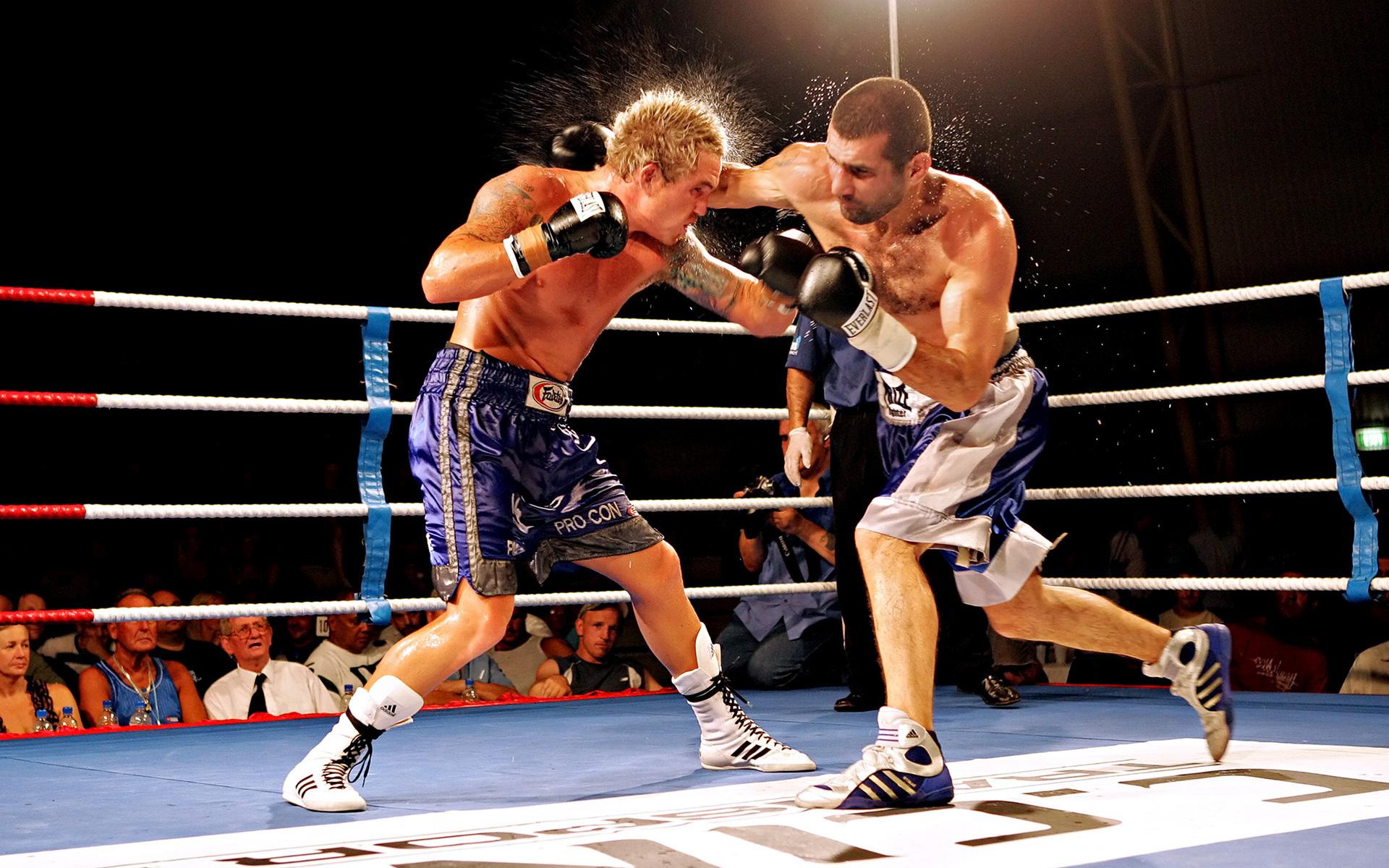 a description of the popular sport of boxing