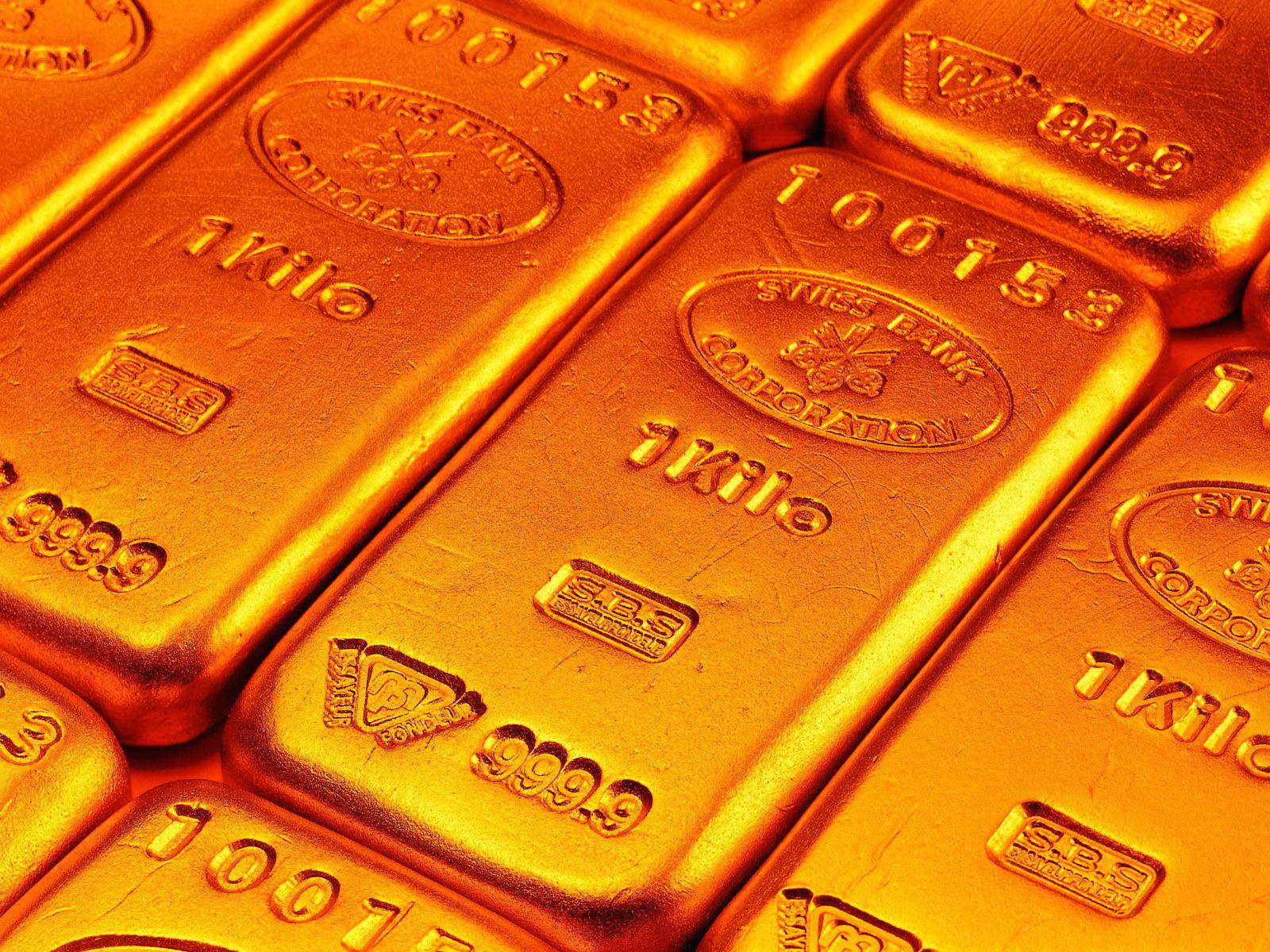 Обои для рабочего стола золото богатство
