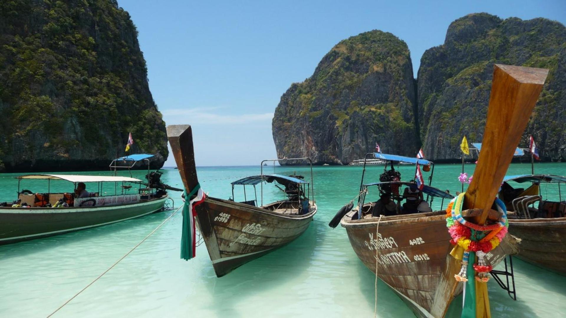 Тайланд снять лодку