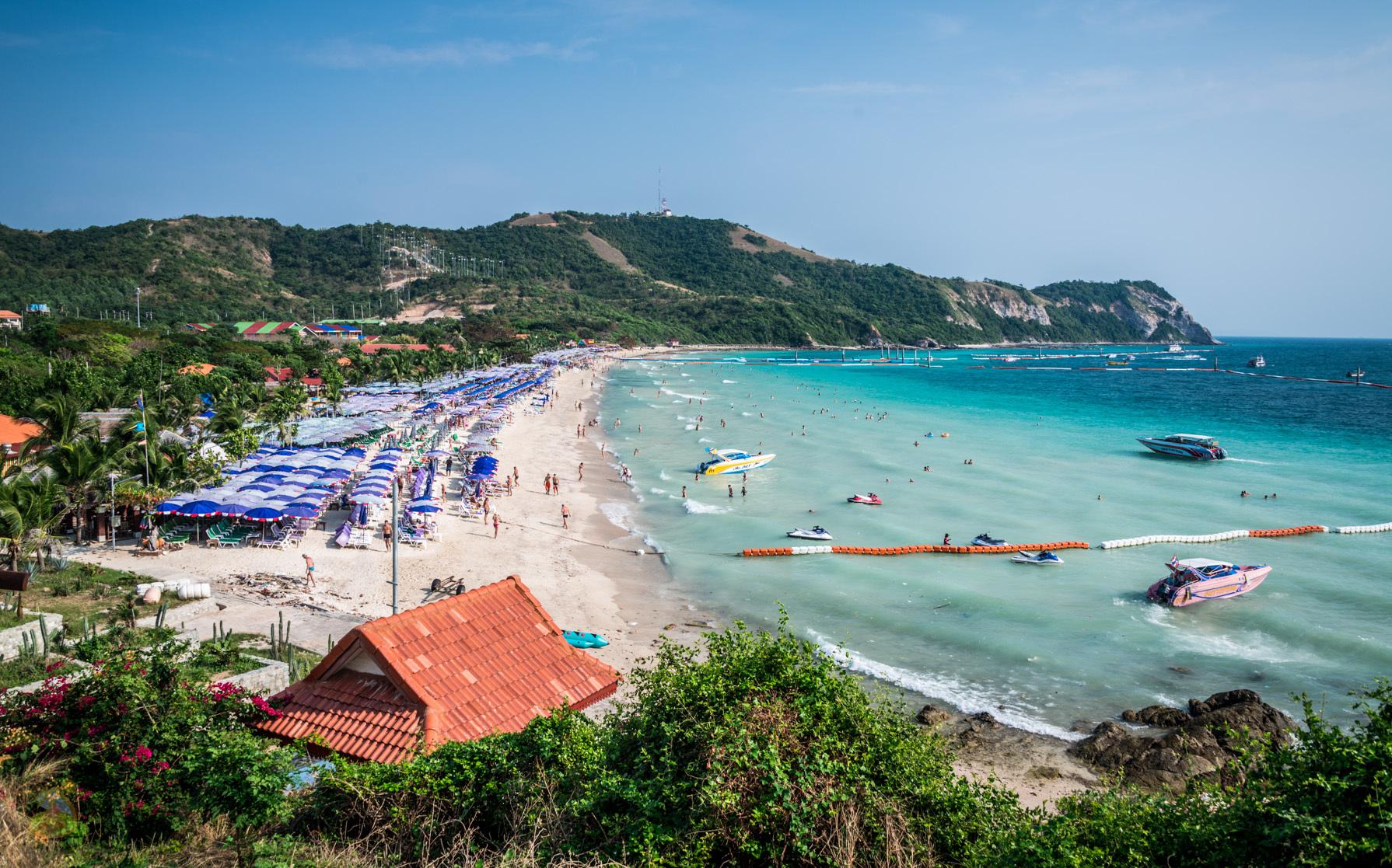 остров ко лан паттайя пляжи обожают размазывать